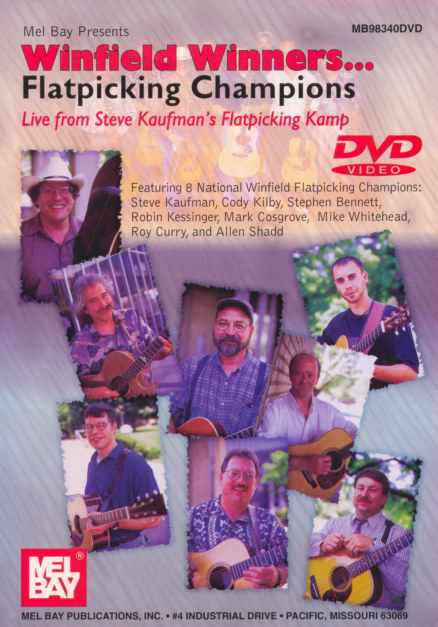 Winfield Winners: Flatpicking Champions Live from Steve Kaufman's Flatpicking Kamp