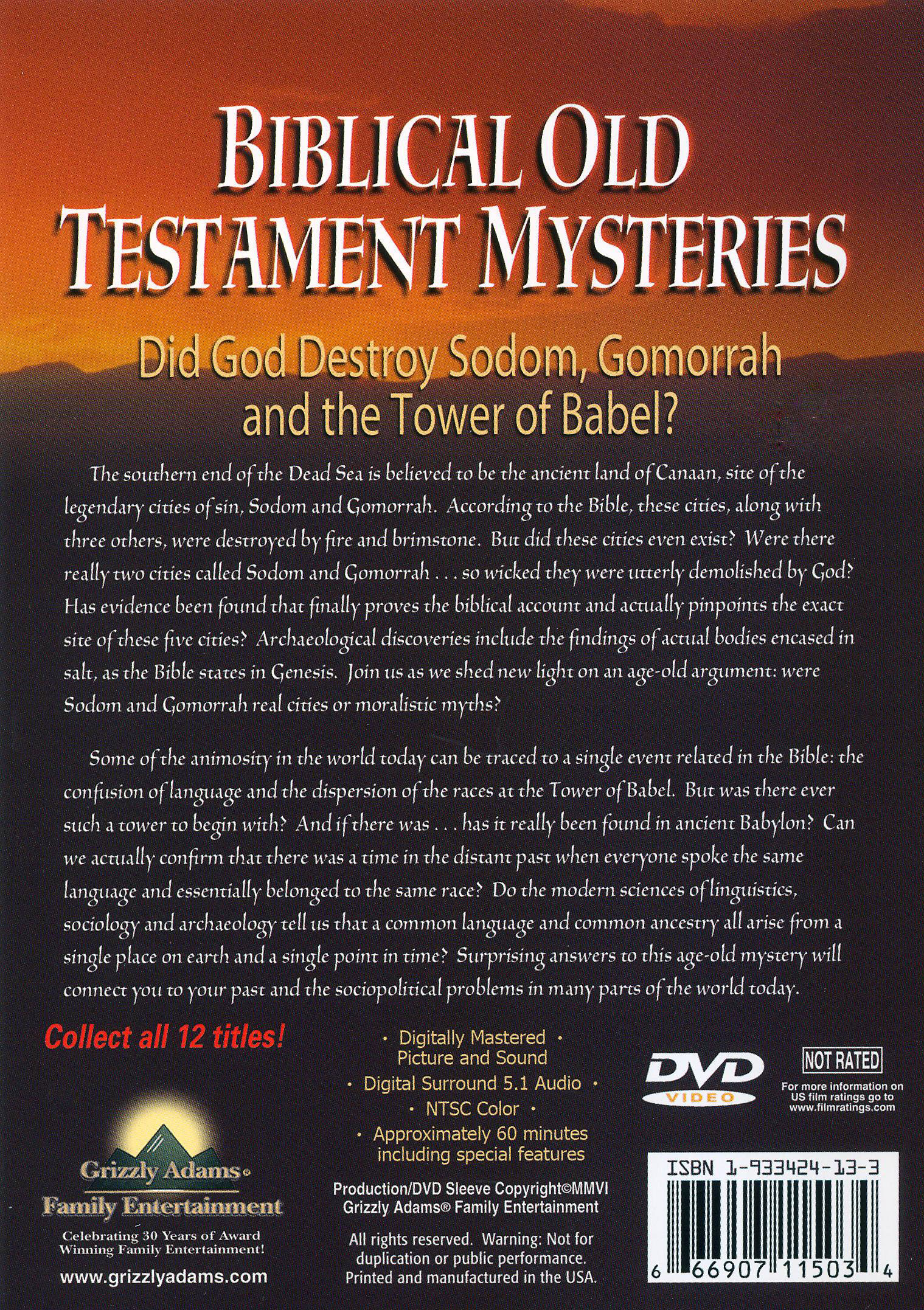 Biblical Collector's Series: Biblical Old Testament Mysteries