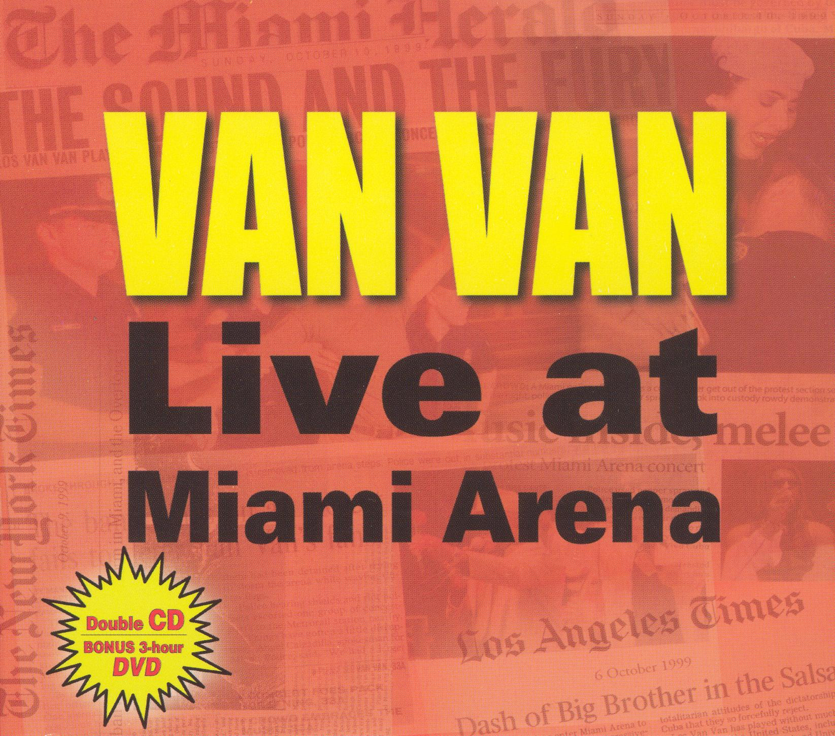 Los Van Van: Live at Miami Arena