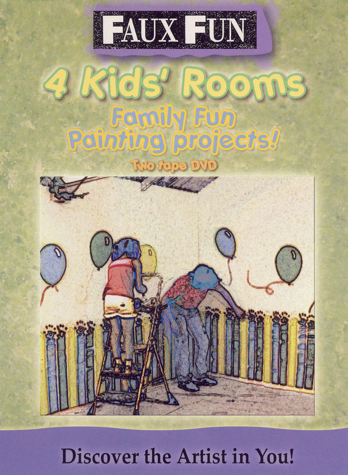 Faux Fun: 4 Kids Rooms