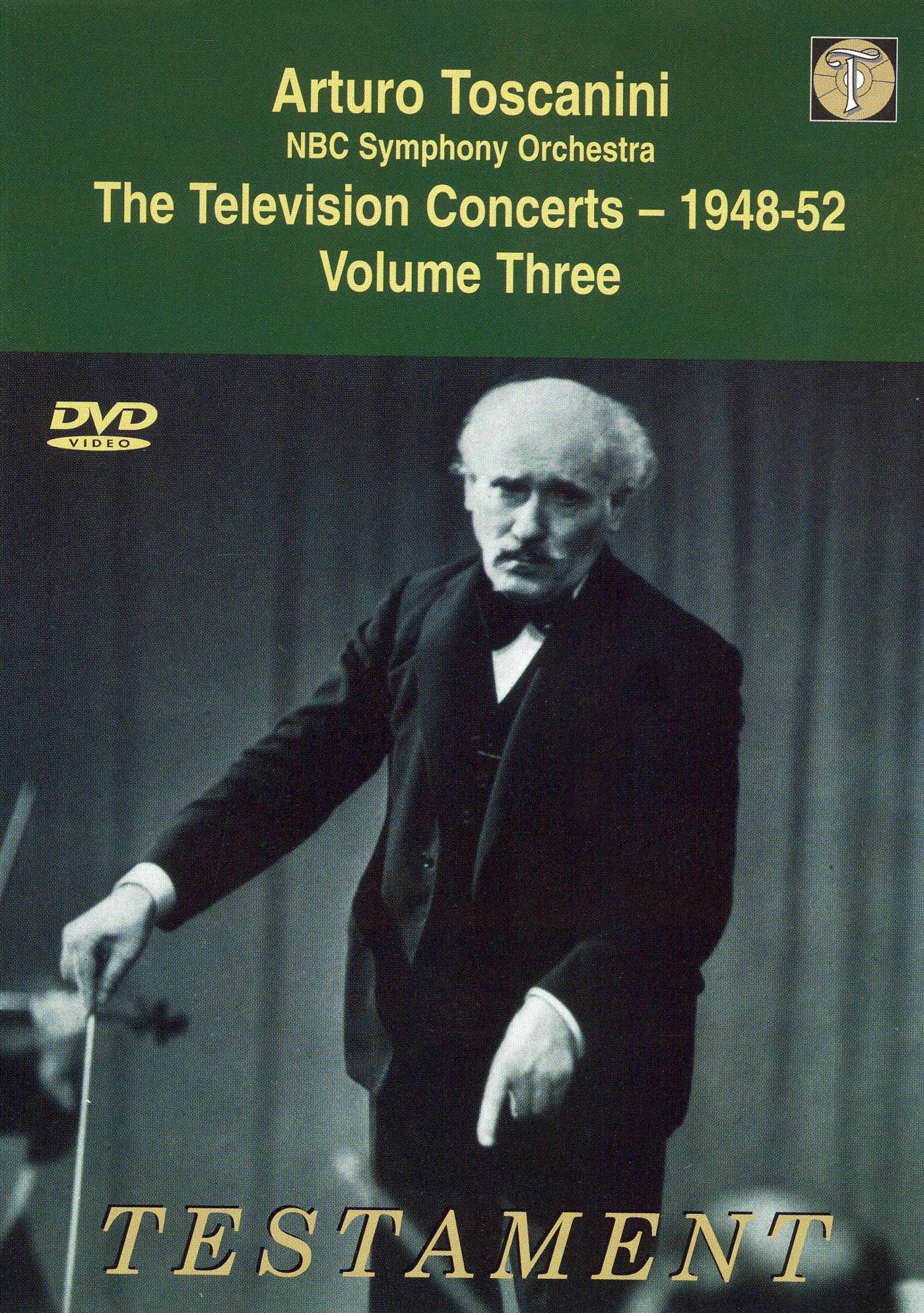 Arturo Toscanini and the NBC Symphony Orchestra: 03/26/1949 & 04/02/1949