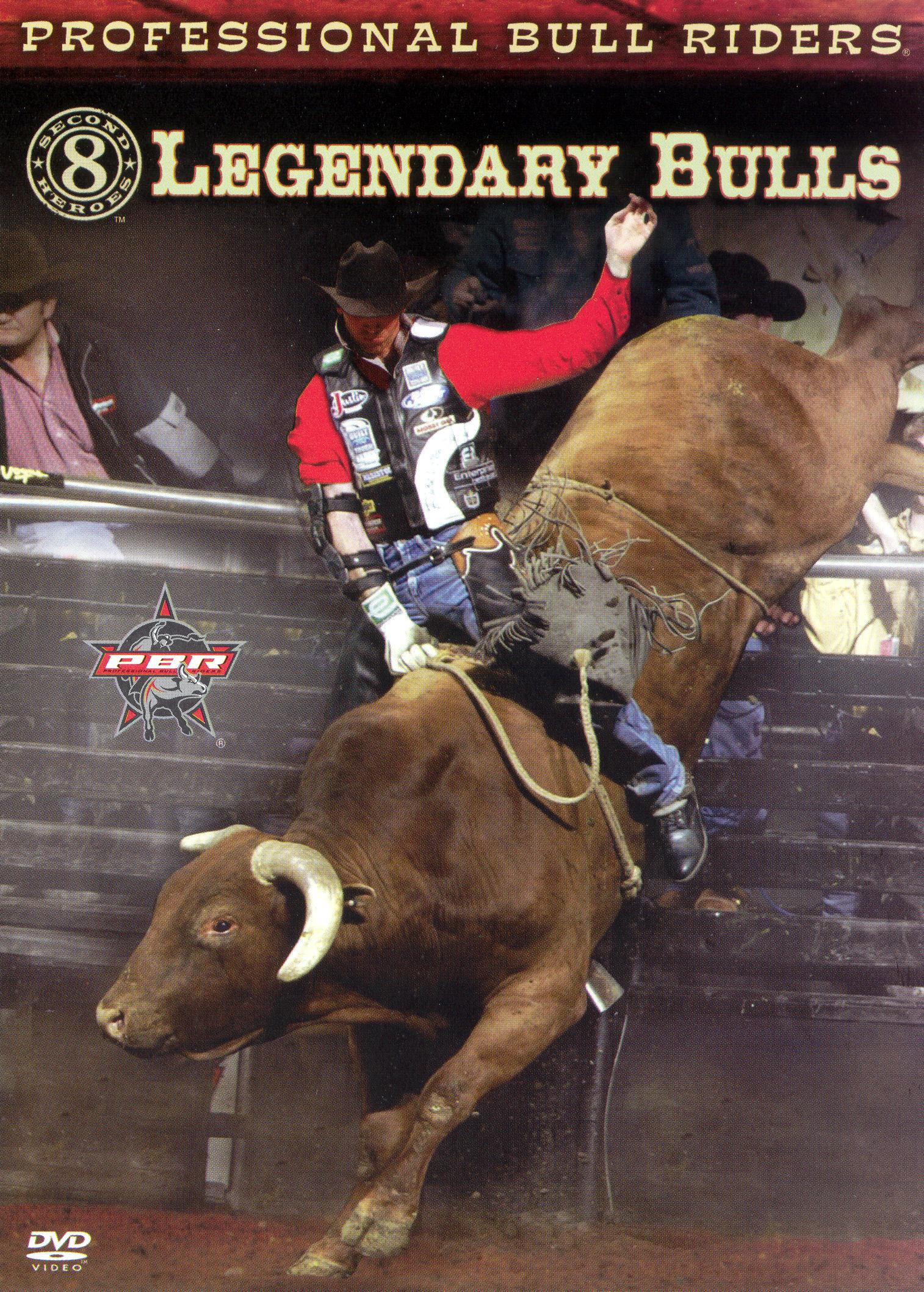 Professsional Bull Riders: 8 Second Heroes - Legendary Bulls