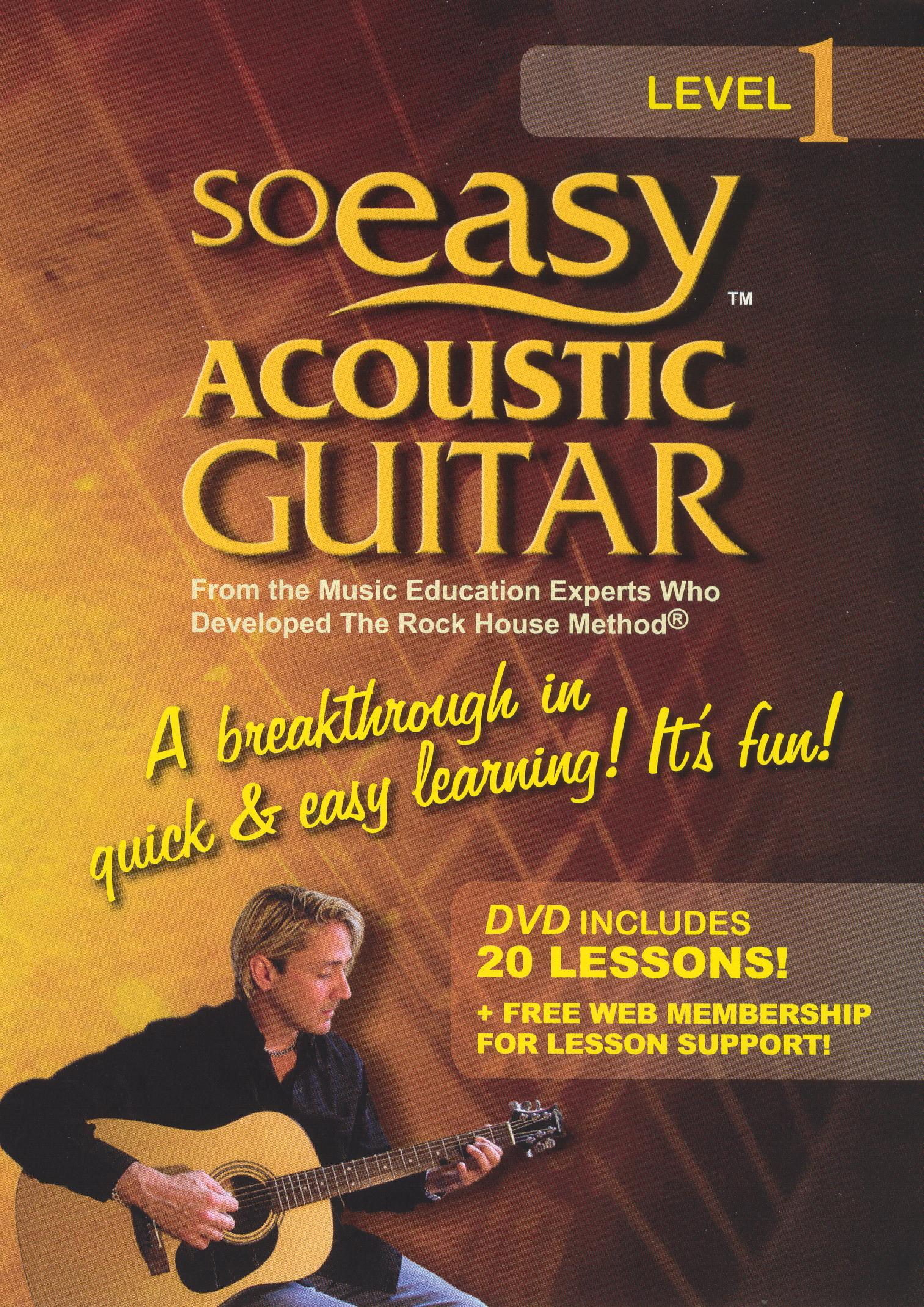 So Easy: Acoustic Guitar Level 1