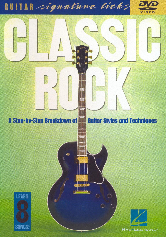 Classic Rock Signature Licks