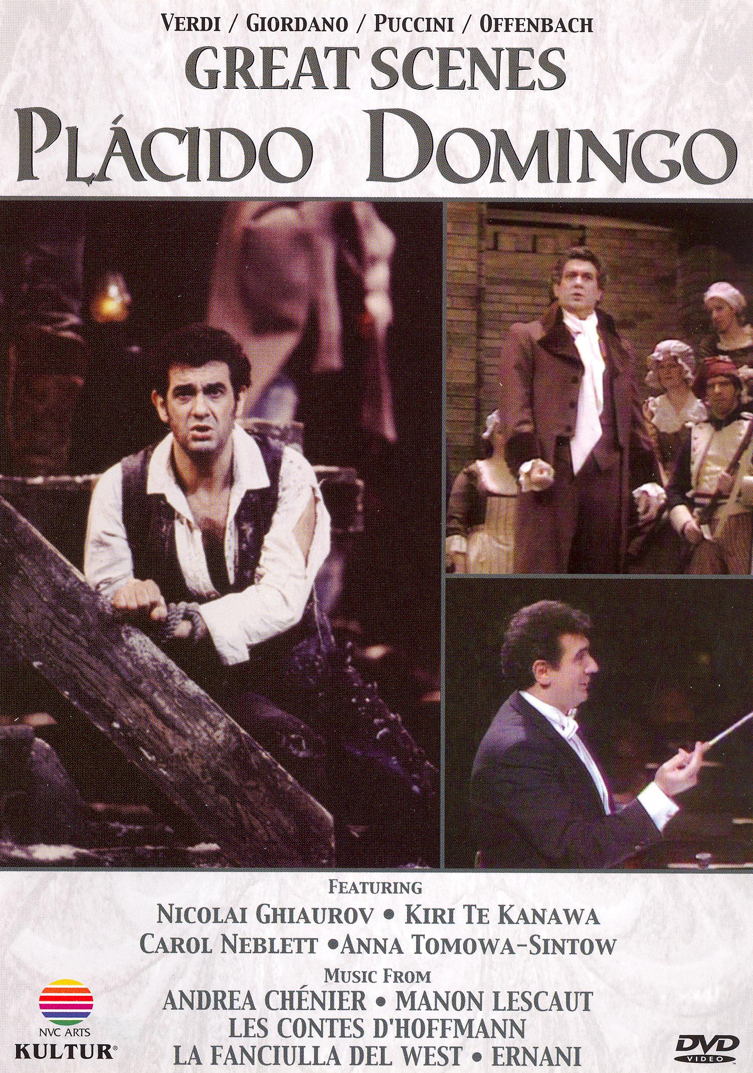Placido Domingo: Great Scenes