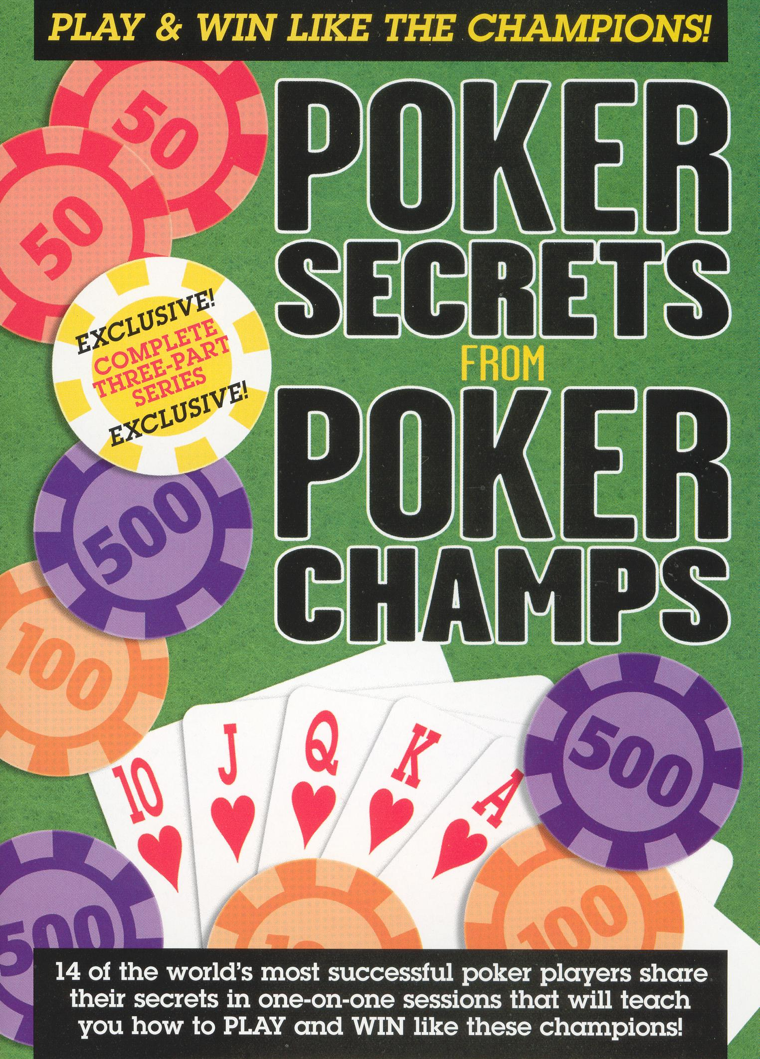 Poker Secrets From Poker Champs