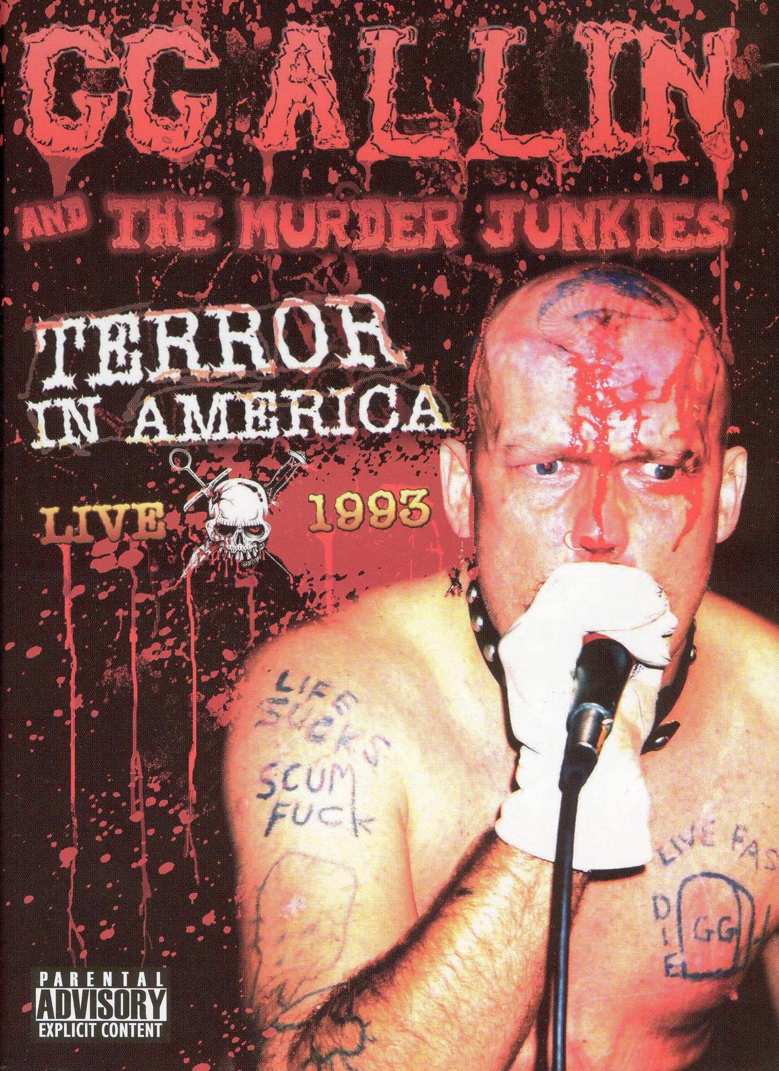 G.G. Allin: Terror in America - Live 1993
