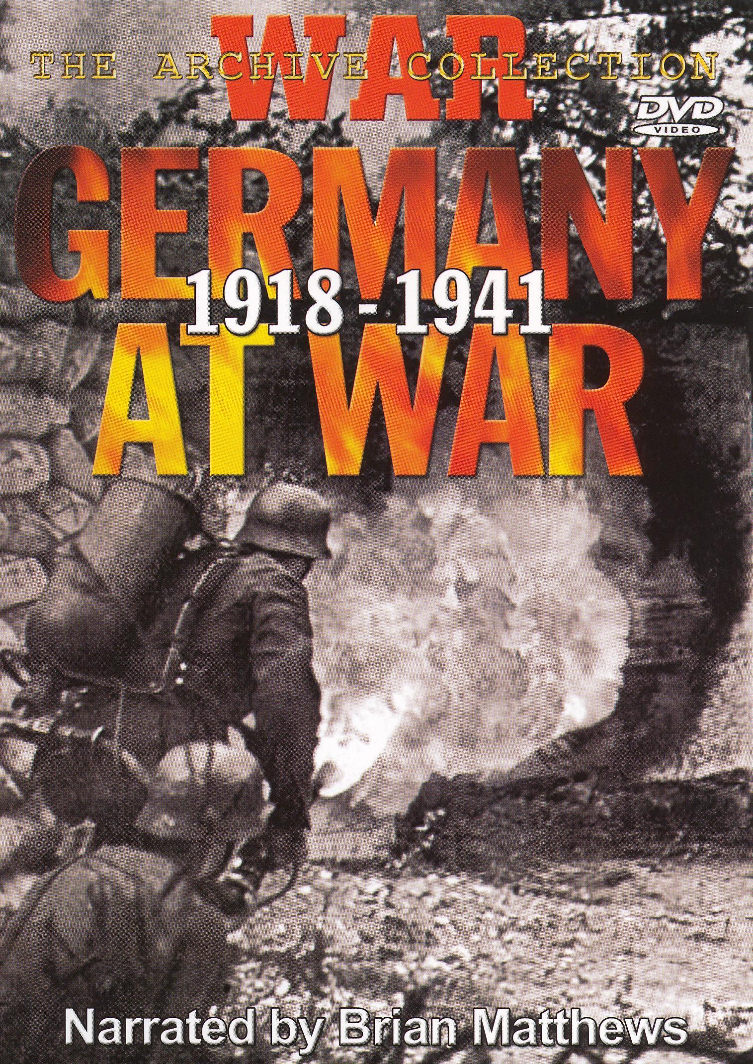 Germany at War 1918-1941