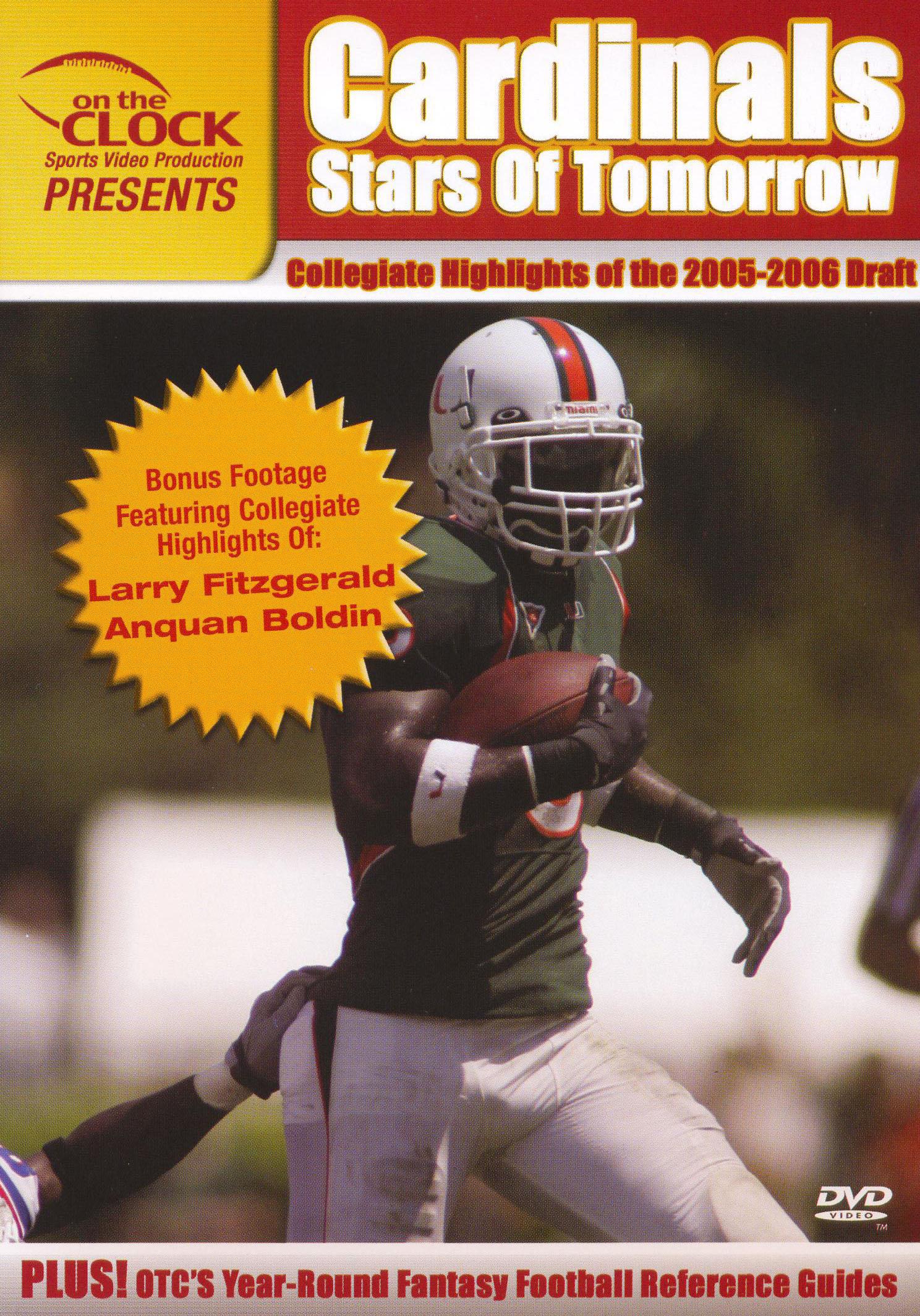 On the Clock Presents: Cardinals - 2005 Draft Picks Collegiate Highlights