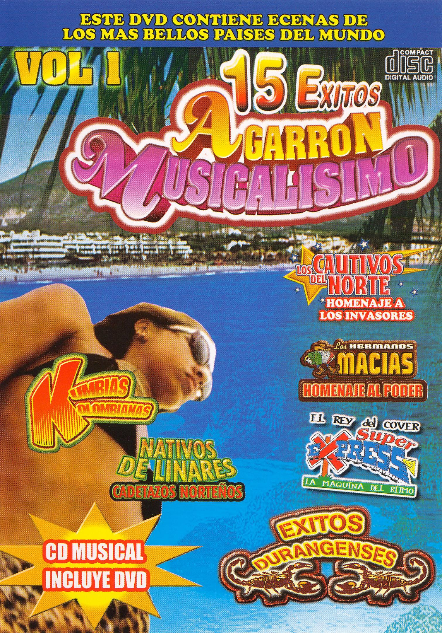 15 Exitos Agarron Musicalisimovol, Vol. 1