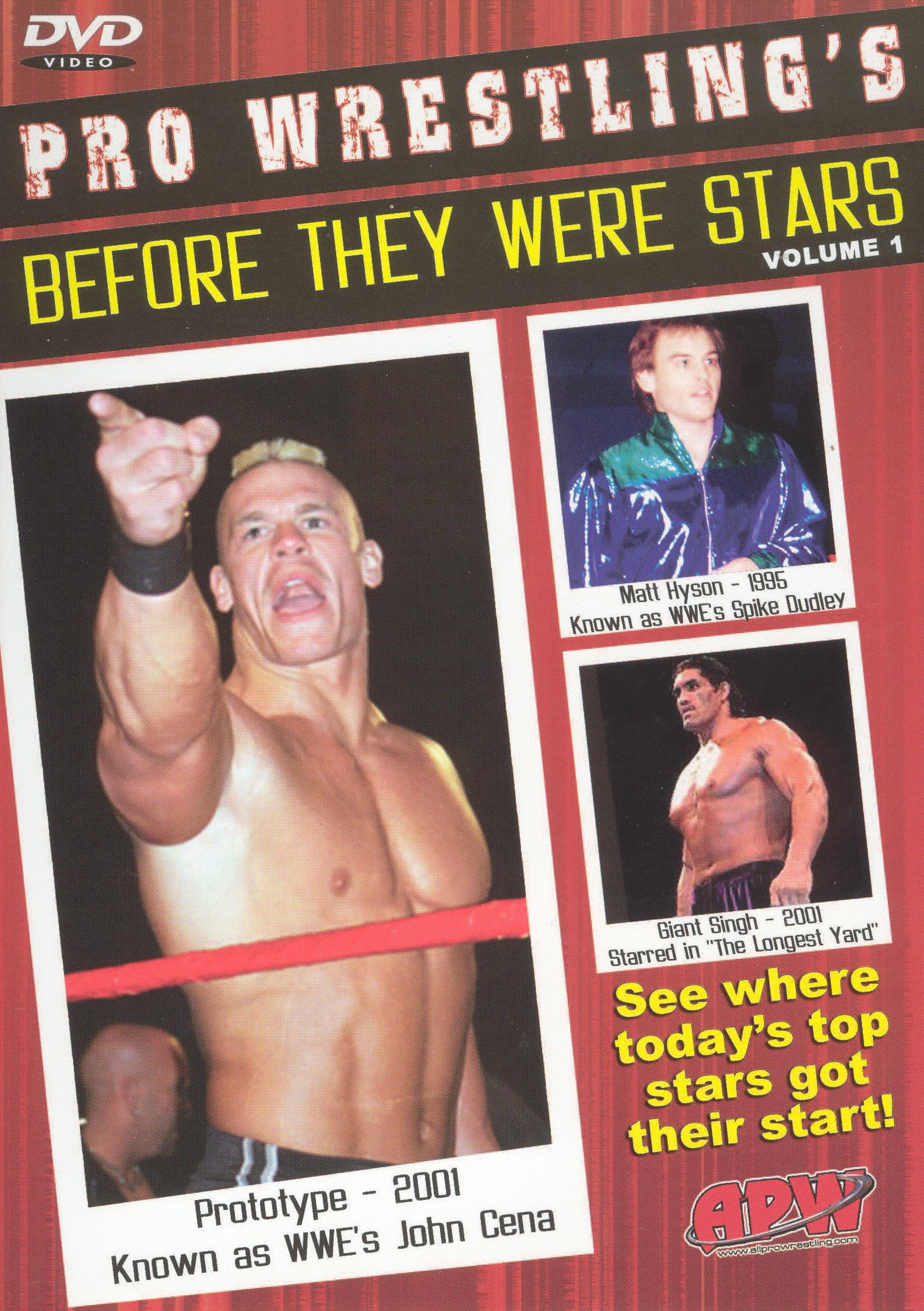 Pro Wrestling's Before They Were Stars