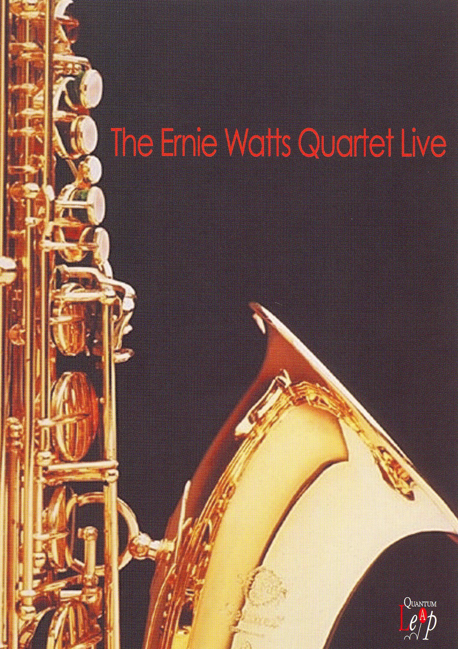 Ernie Watts Quartet: Live