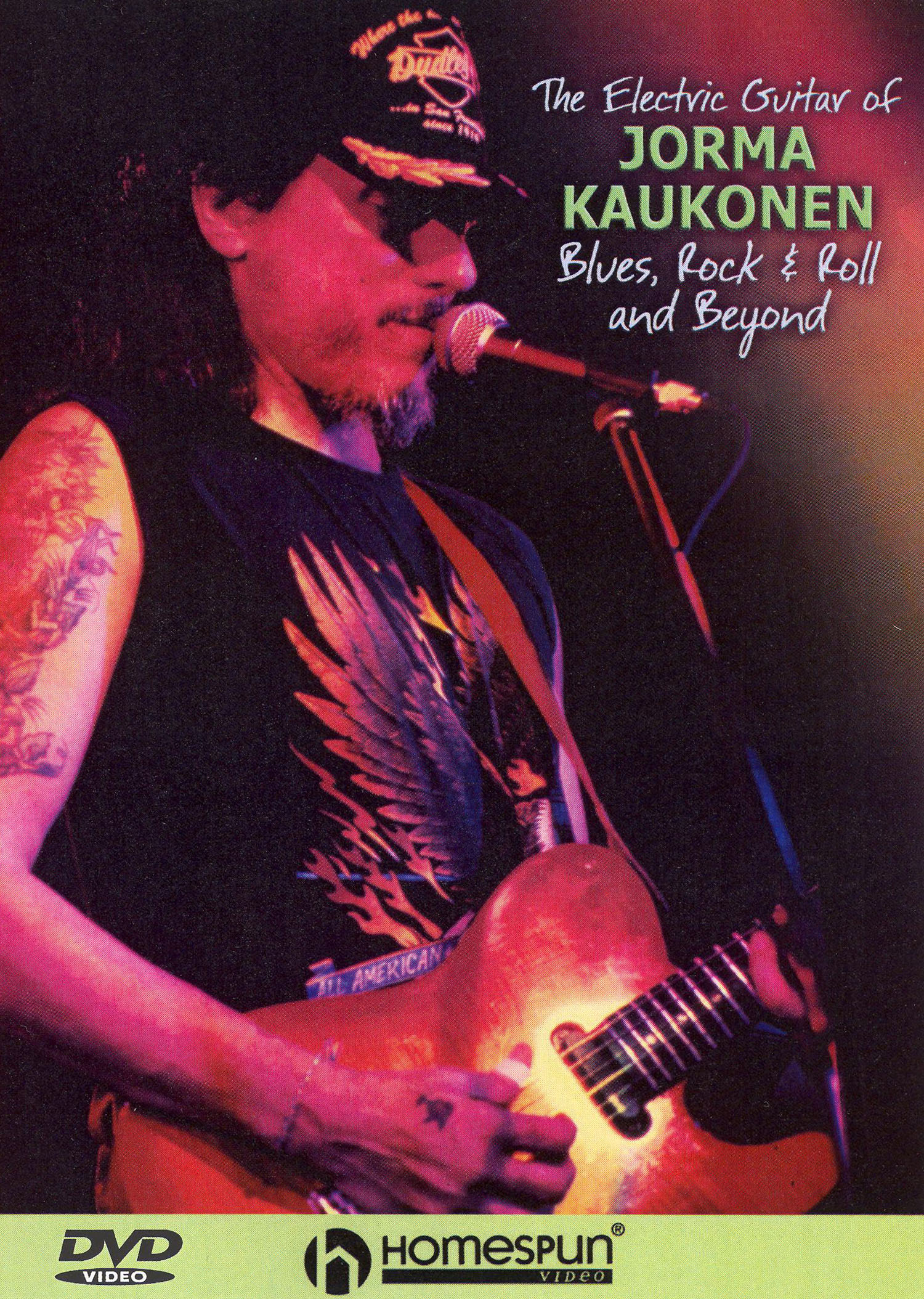 The Electric Guitar of Jorma Kaukonen: Blues, Rock 'n' Roll and Beyond