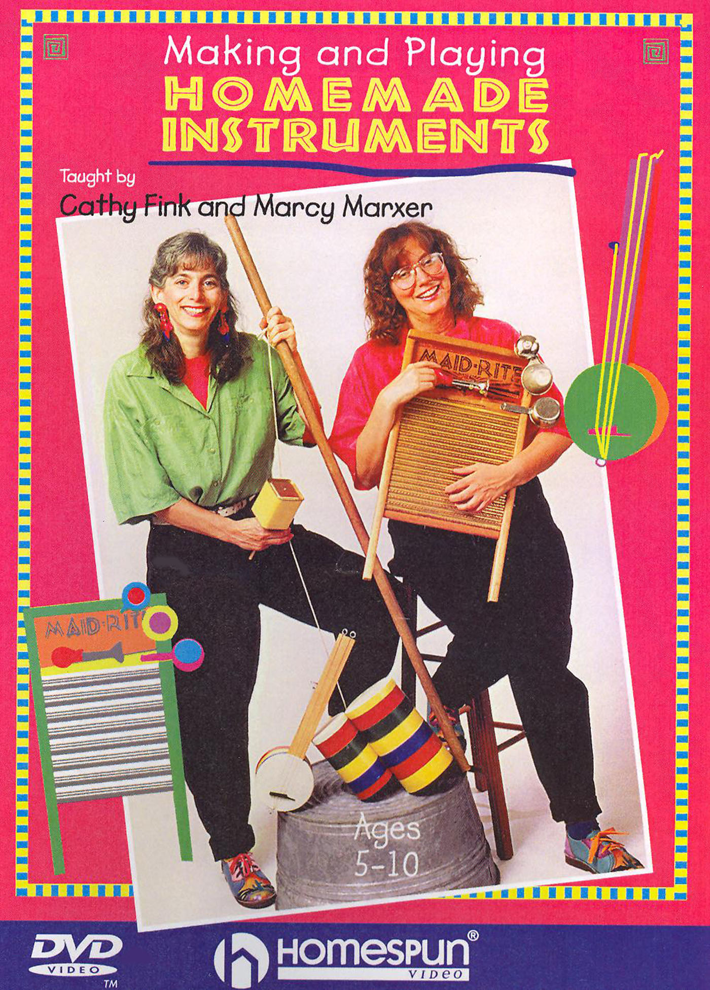 Marcy Marxer/Cathy Fink: Making and Playing Homemade Instruments