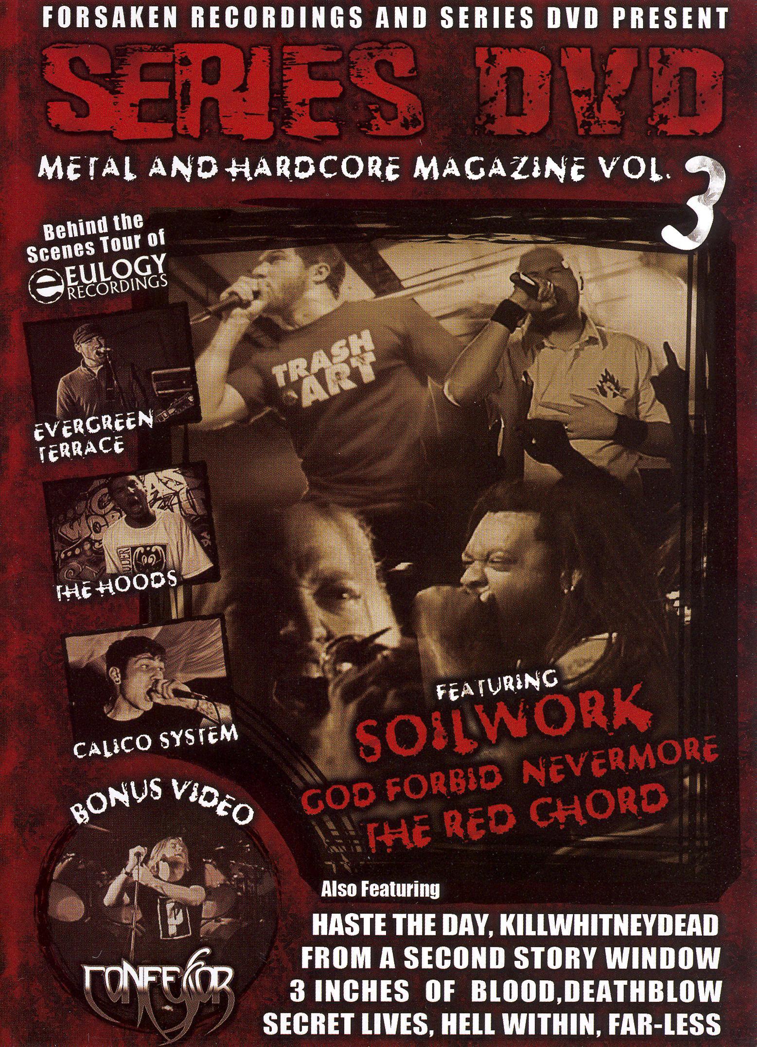 Series DVD: Metal and Hardcore, Vol. 3