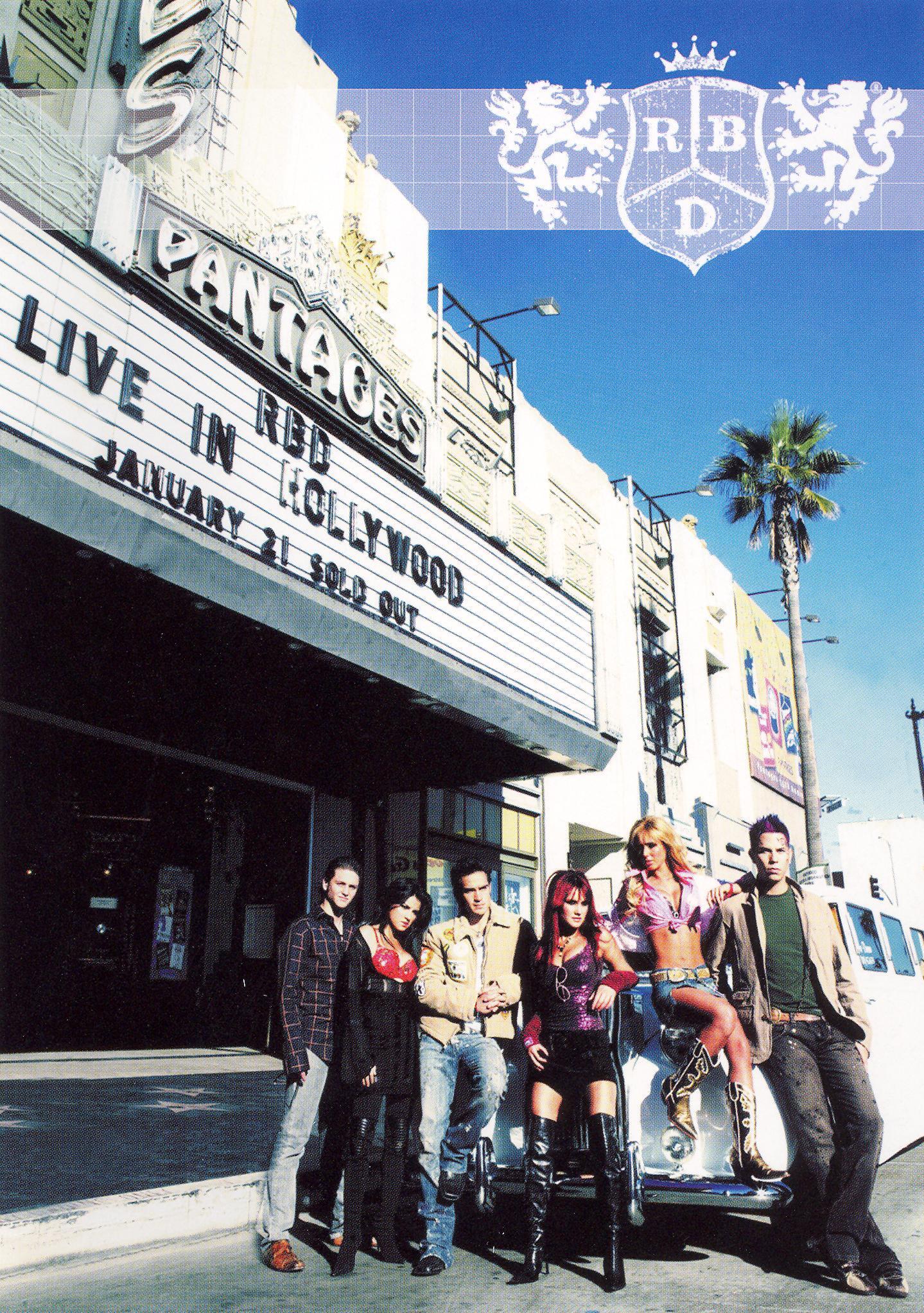 RBD [ Rebelde ]: Live in Hollywood