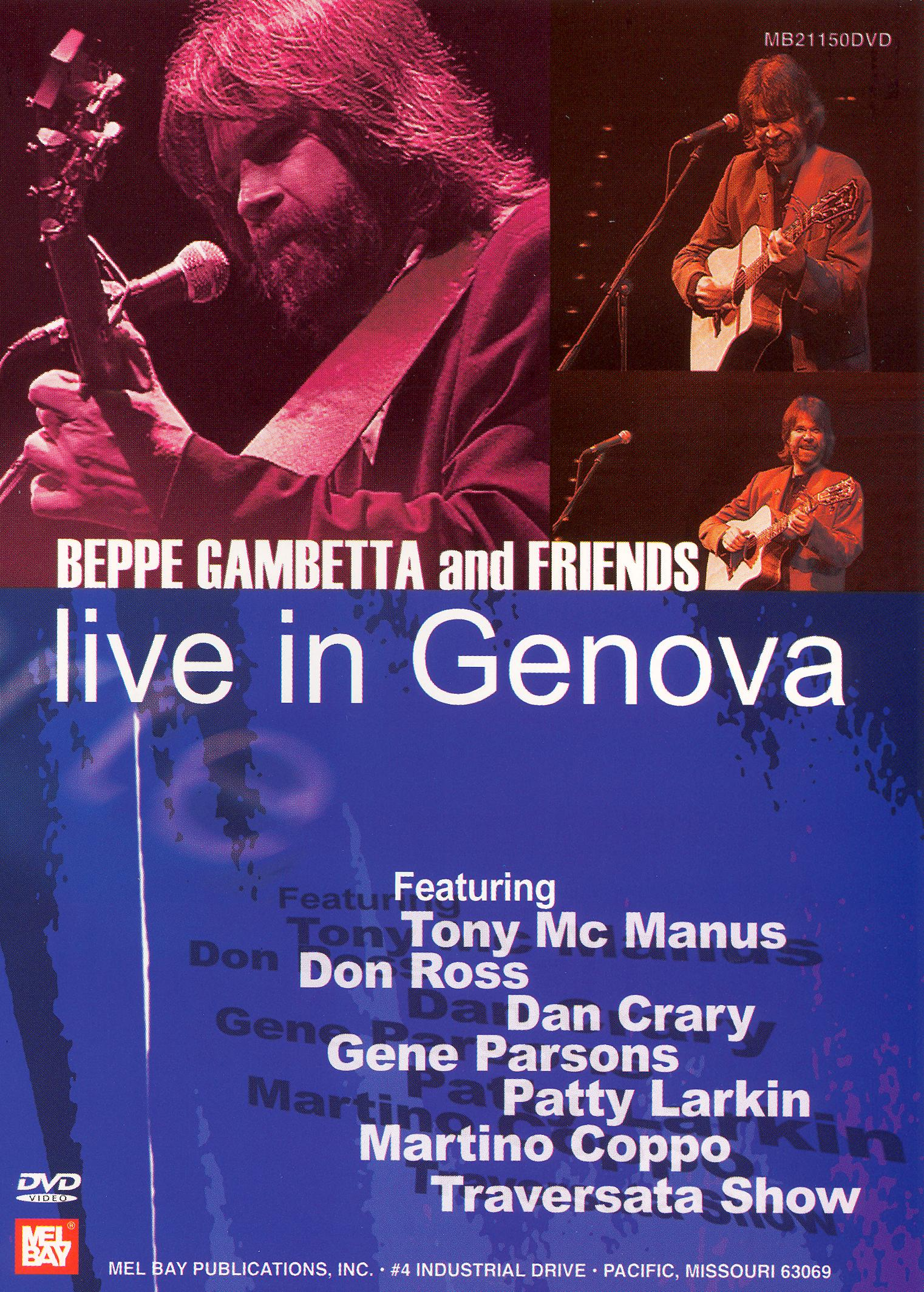 Beppe Gambetta and Friends: Live in Genova