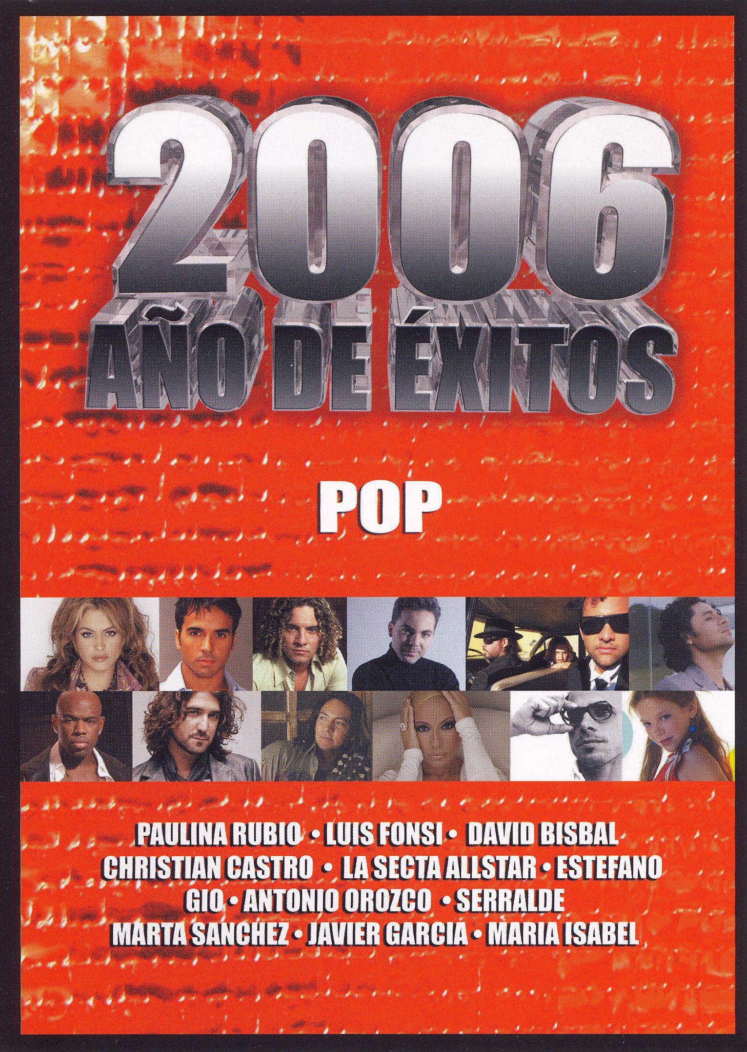 2006 Ano de Exitos: Pop