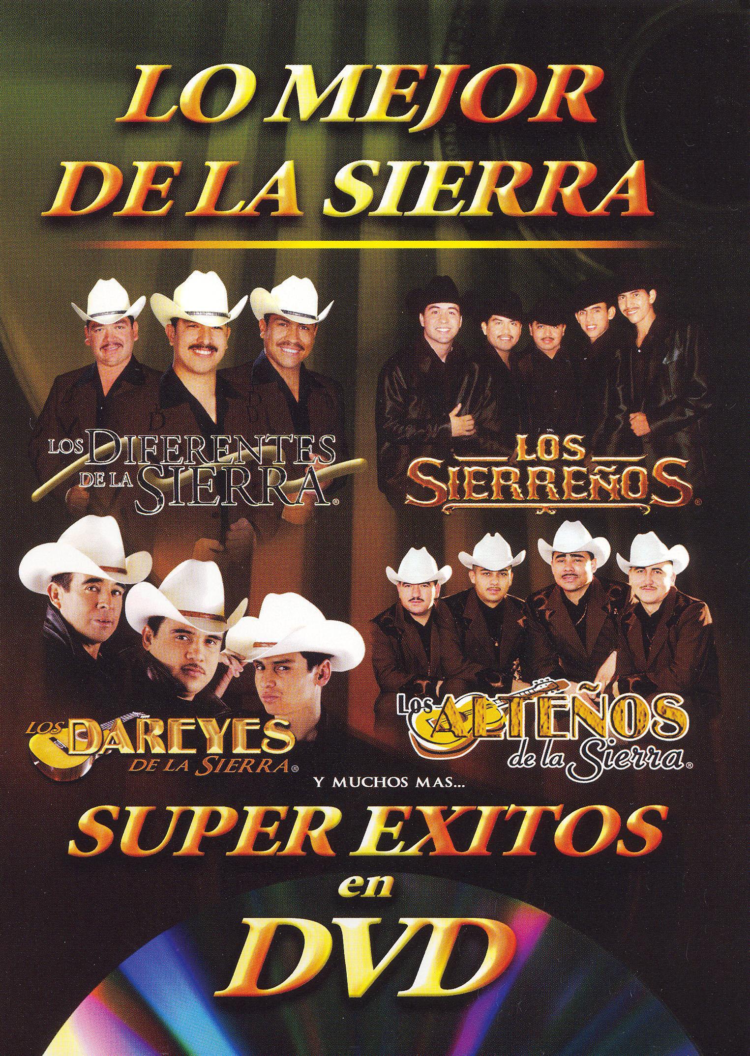Super Exitos en DVD: Sierreno