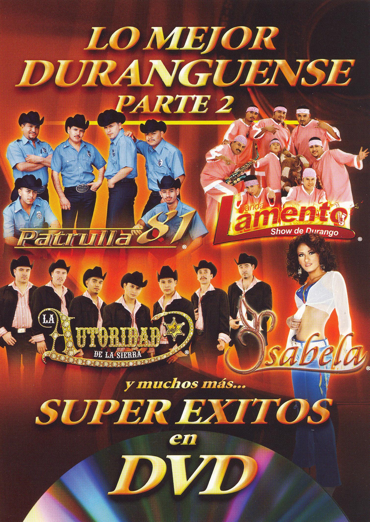Super Exitos en DVD: Duranguense, Vol. 2