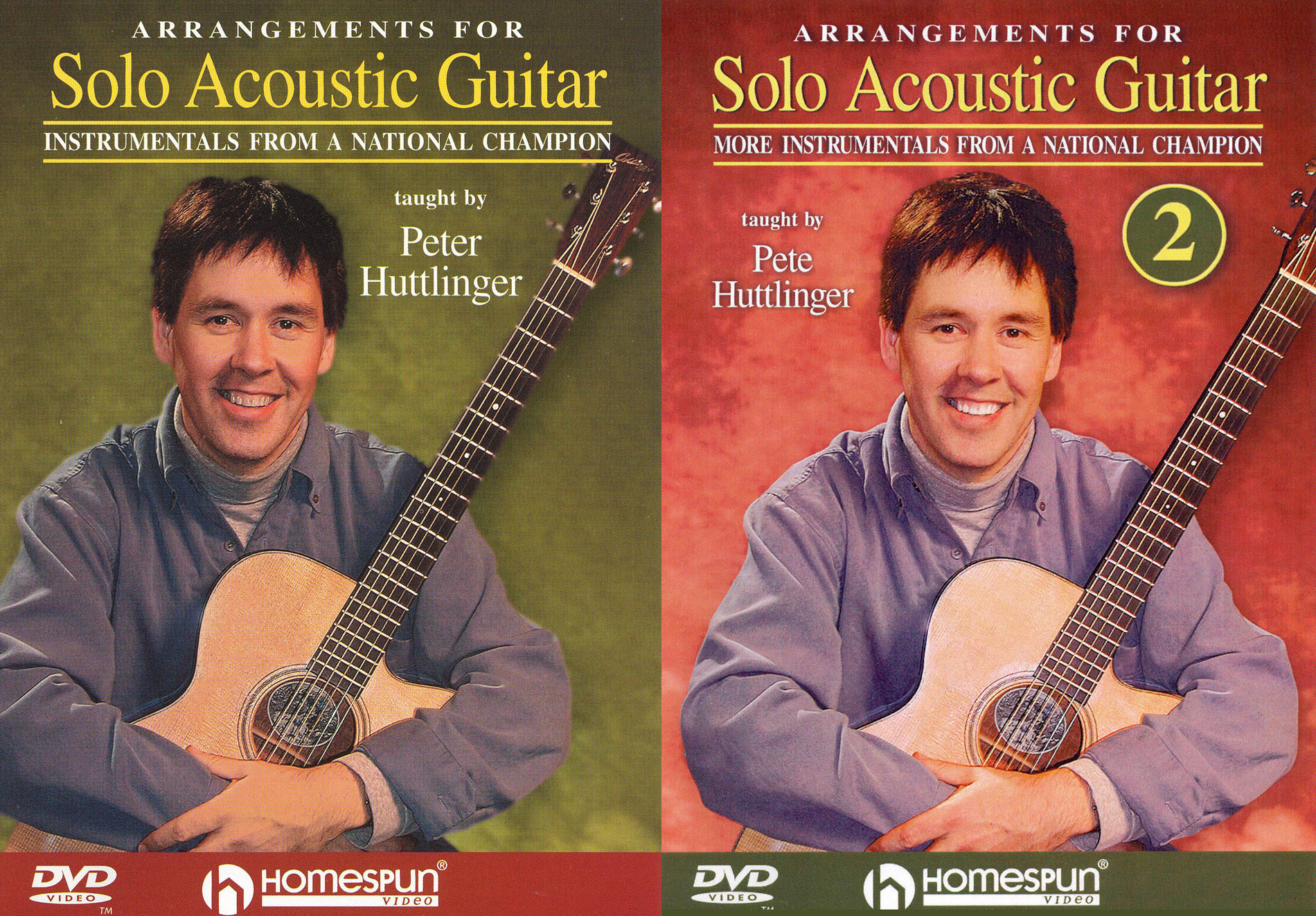 Peter Huttlinger: Arrangements for Solo Acoustic Guitar