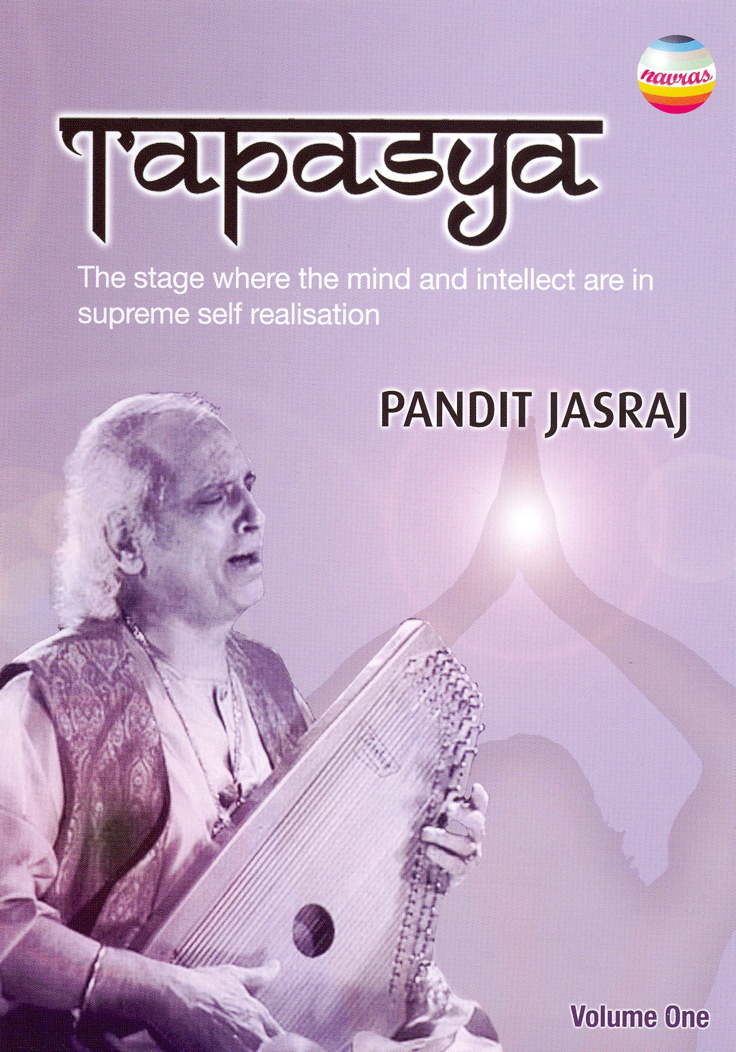Tapasya, Vol. 1: Pandit Jasraj