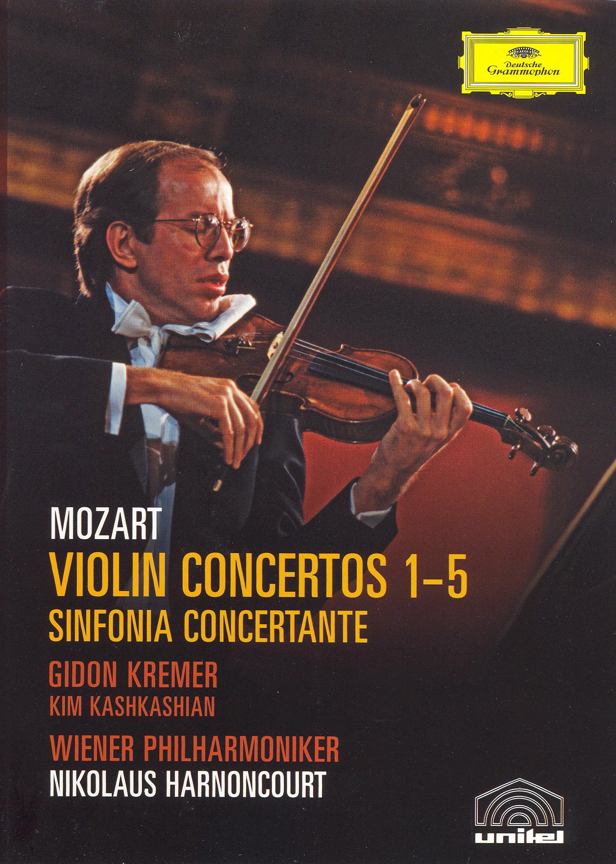Gidon Kremer/Kim Kashkashian: Mozart Violin Concertos 1-5/Sinfonia Concertante