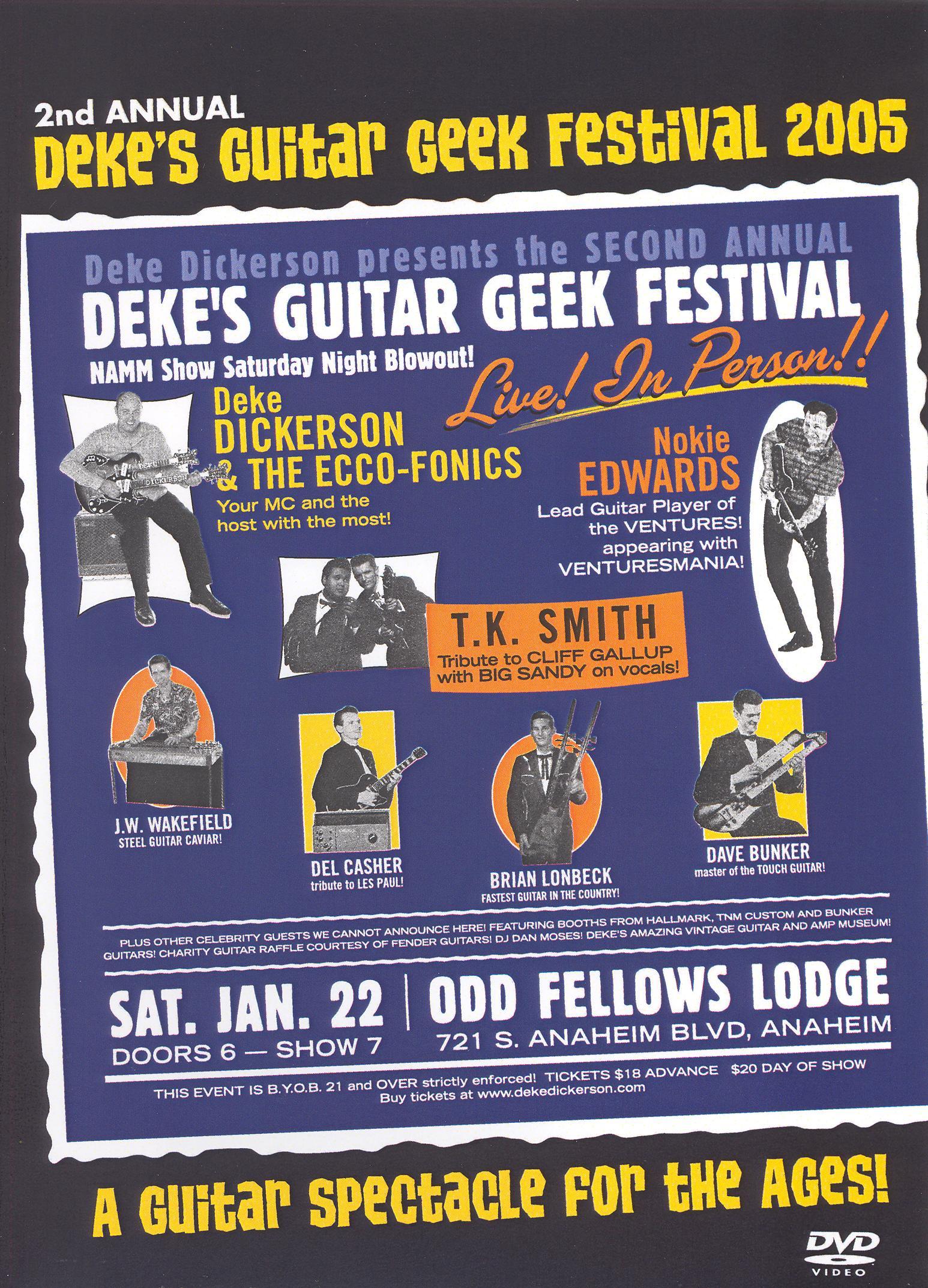 Deke's Guitar Geek Festival 2: 2005