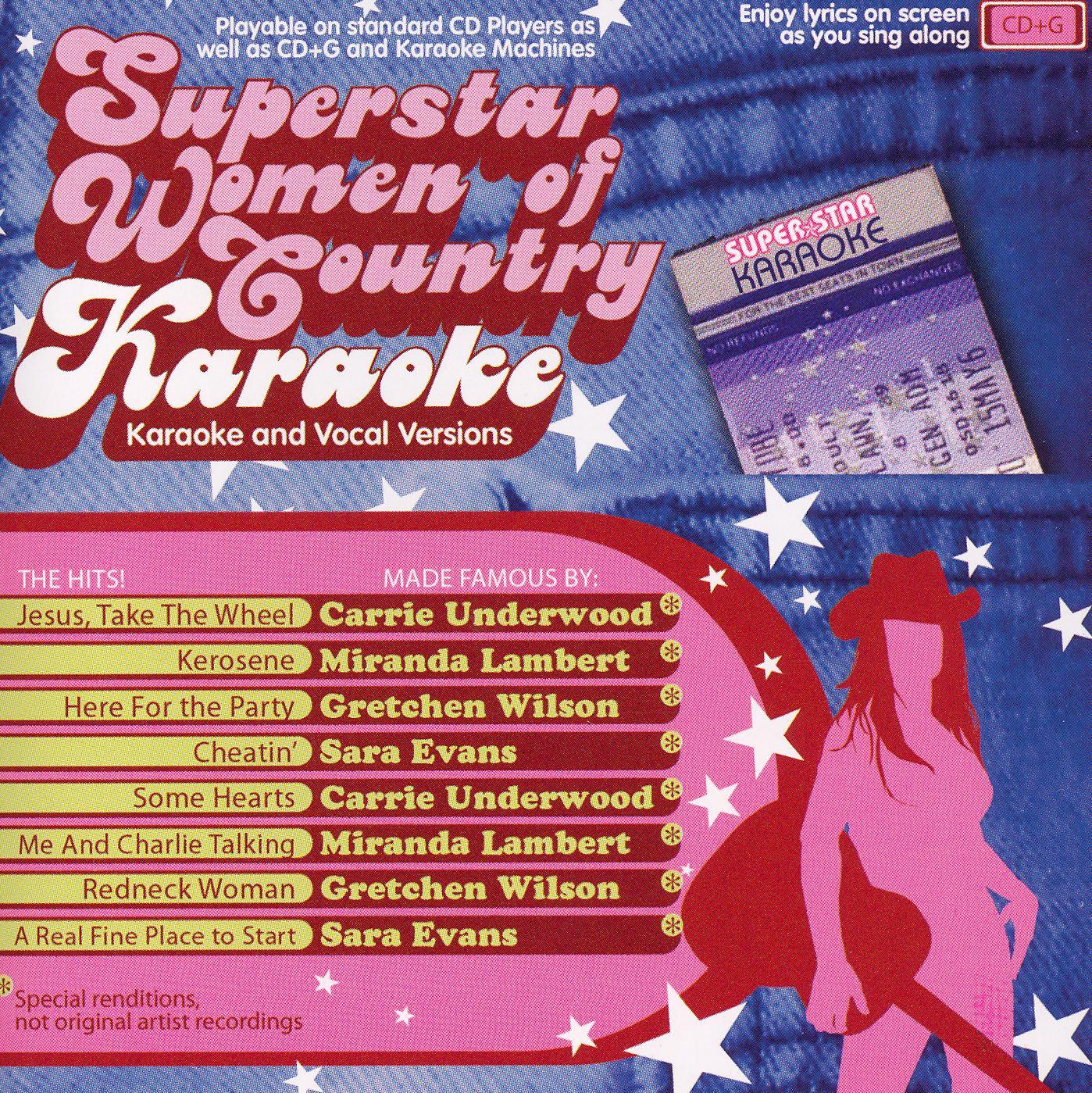 Superstar Women of Country: Karaoke