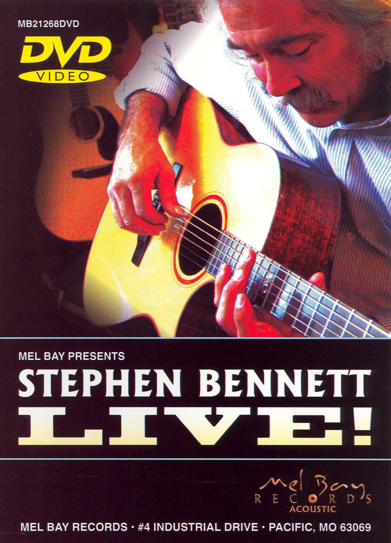 Stephen Bennett: Stephen Bennett Live