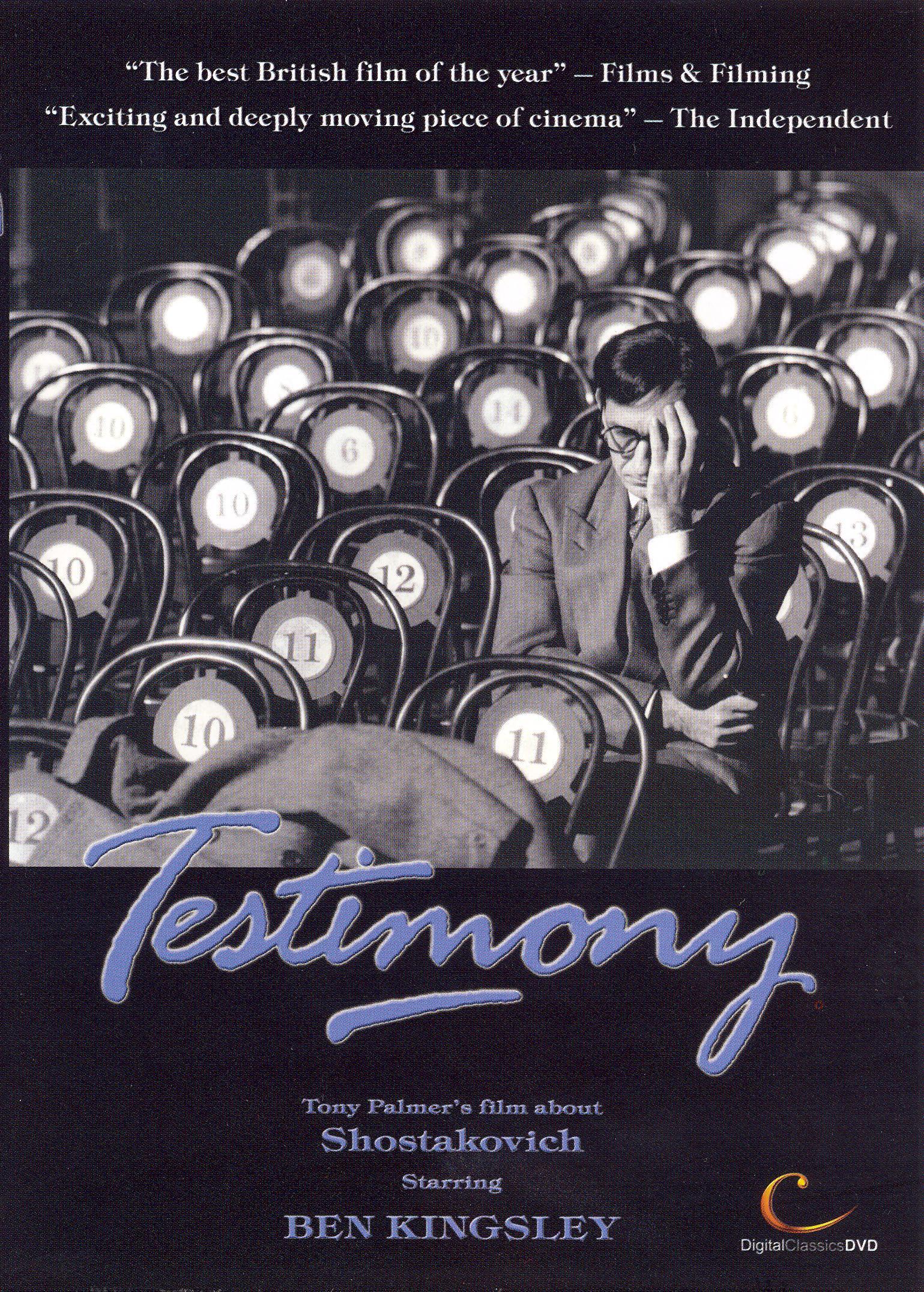 Testimony: Tony Palmer's Story of Shostakovich