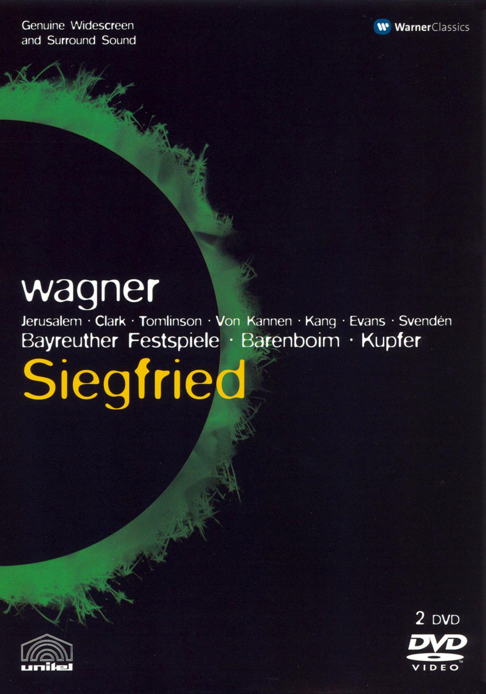Siegfried (Bayreuther Festspiele/Barenboim)