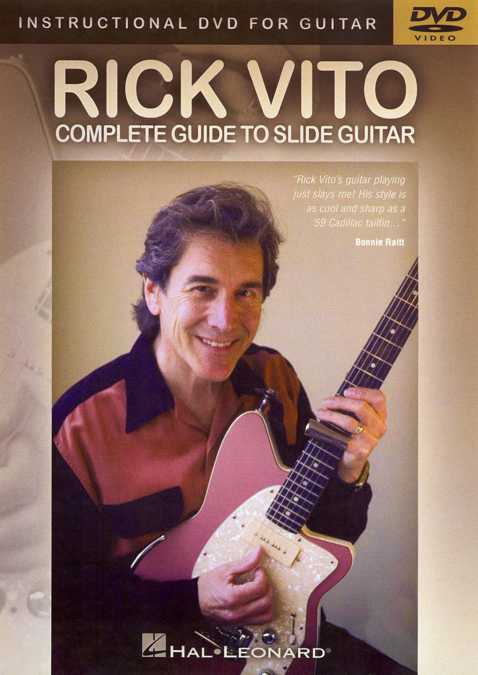 Rick Vito: Complete Guide to Slide Guitar