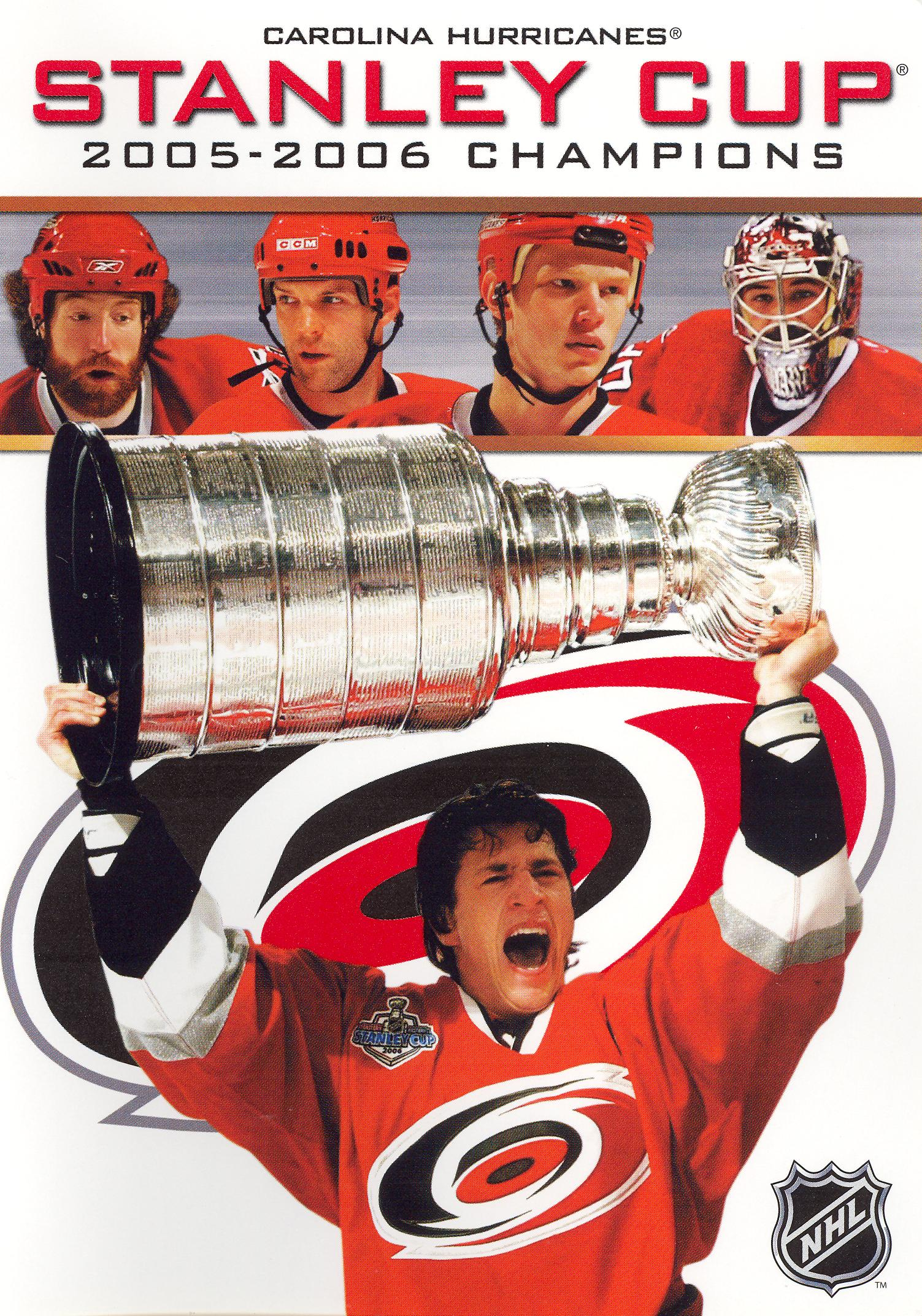 NHL: Stanley Cup 2005-2006 Champions - Carolina Hurricanes