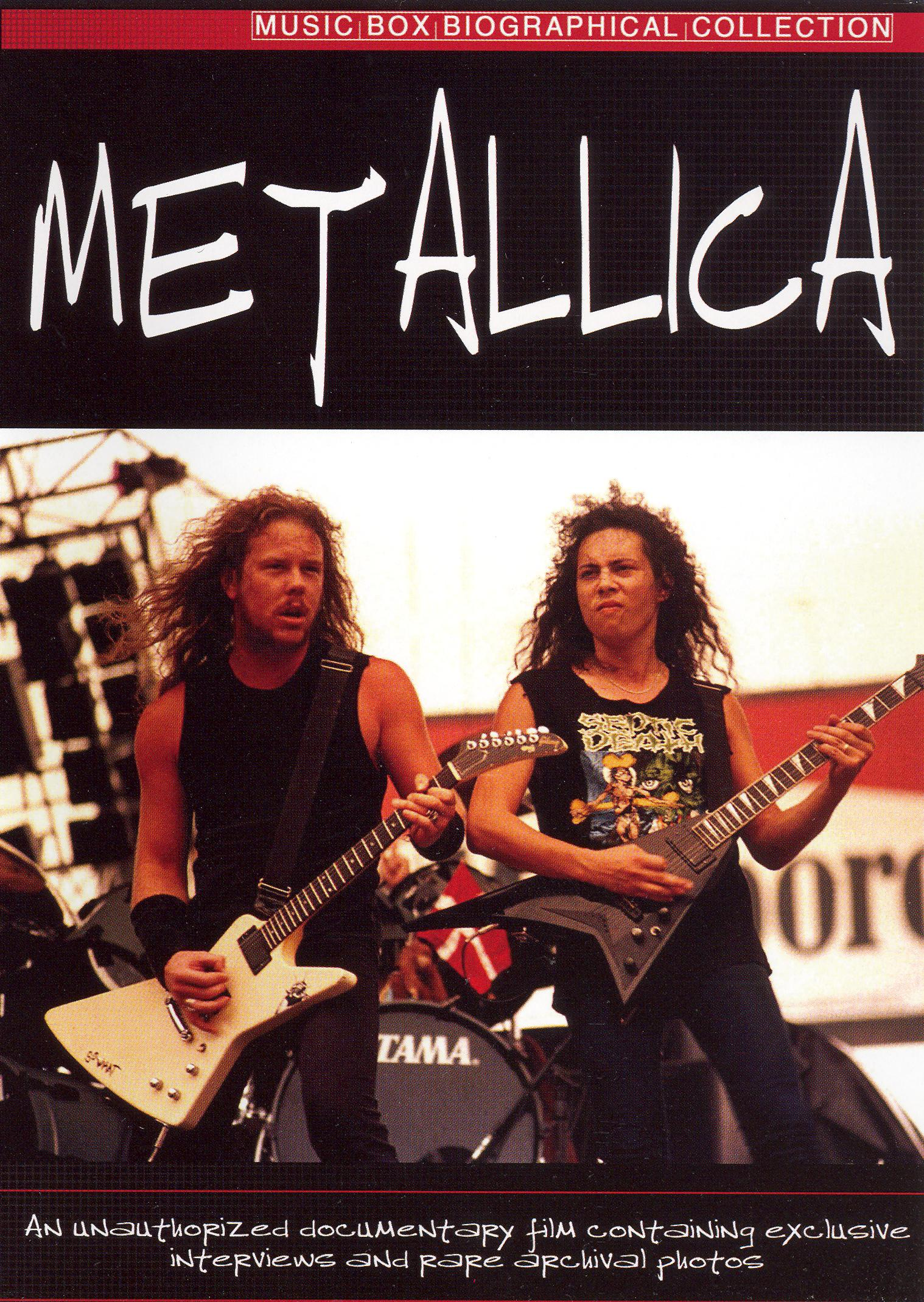 Music Box Biographical Collection: Metallica