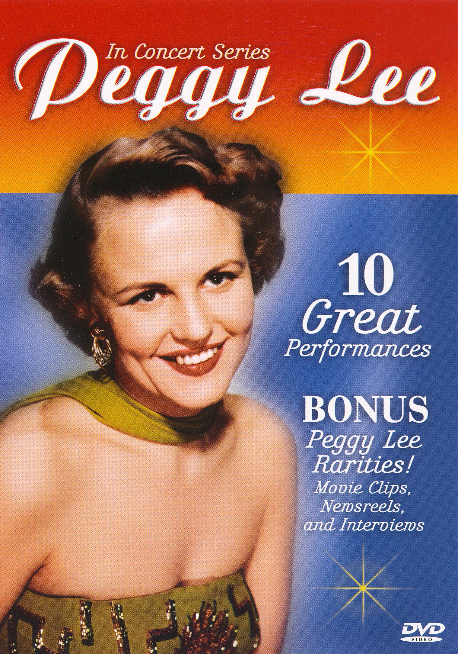In Concert Series: Peggy Lee