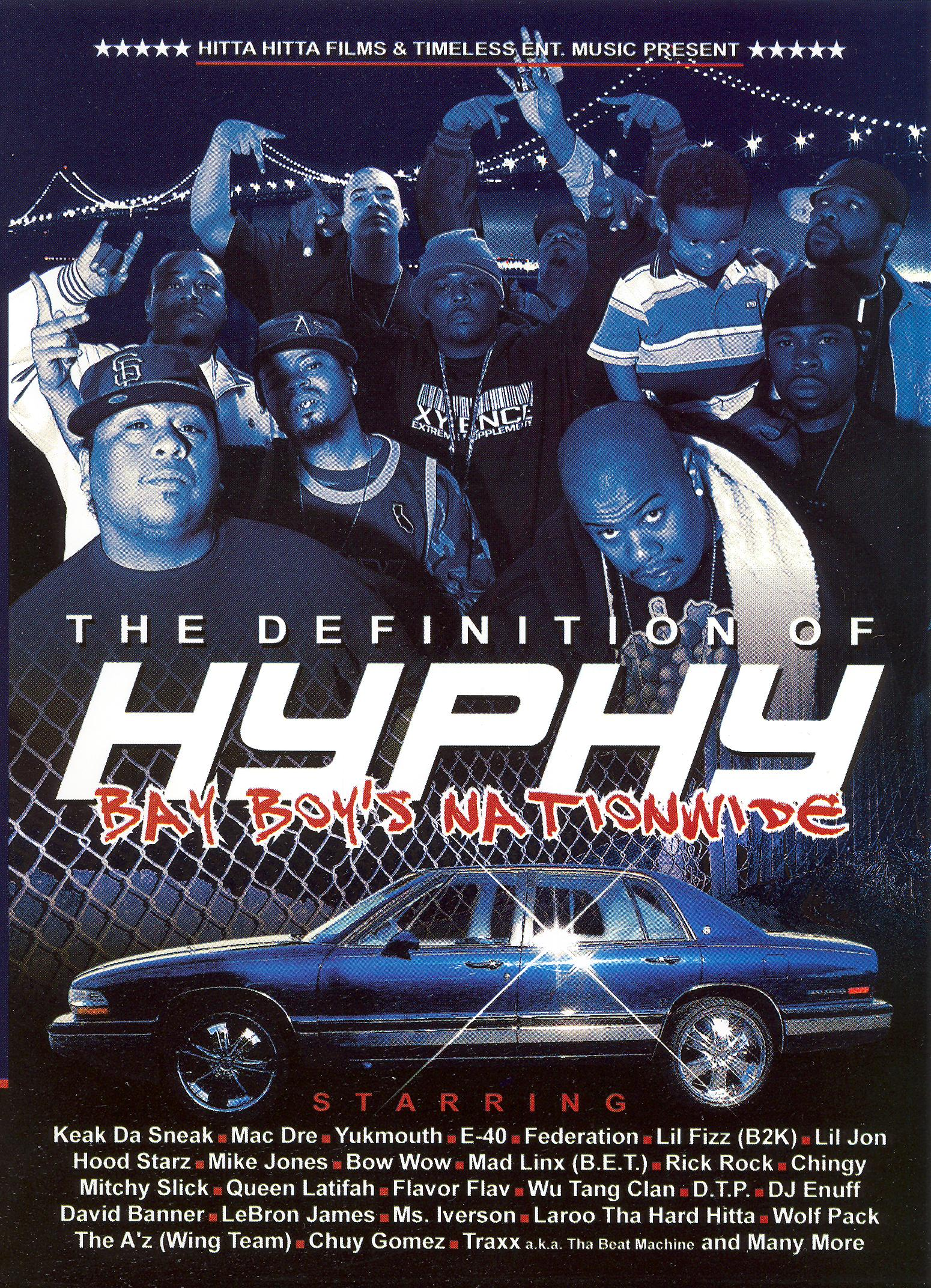 The Definition of Hyphy DVD