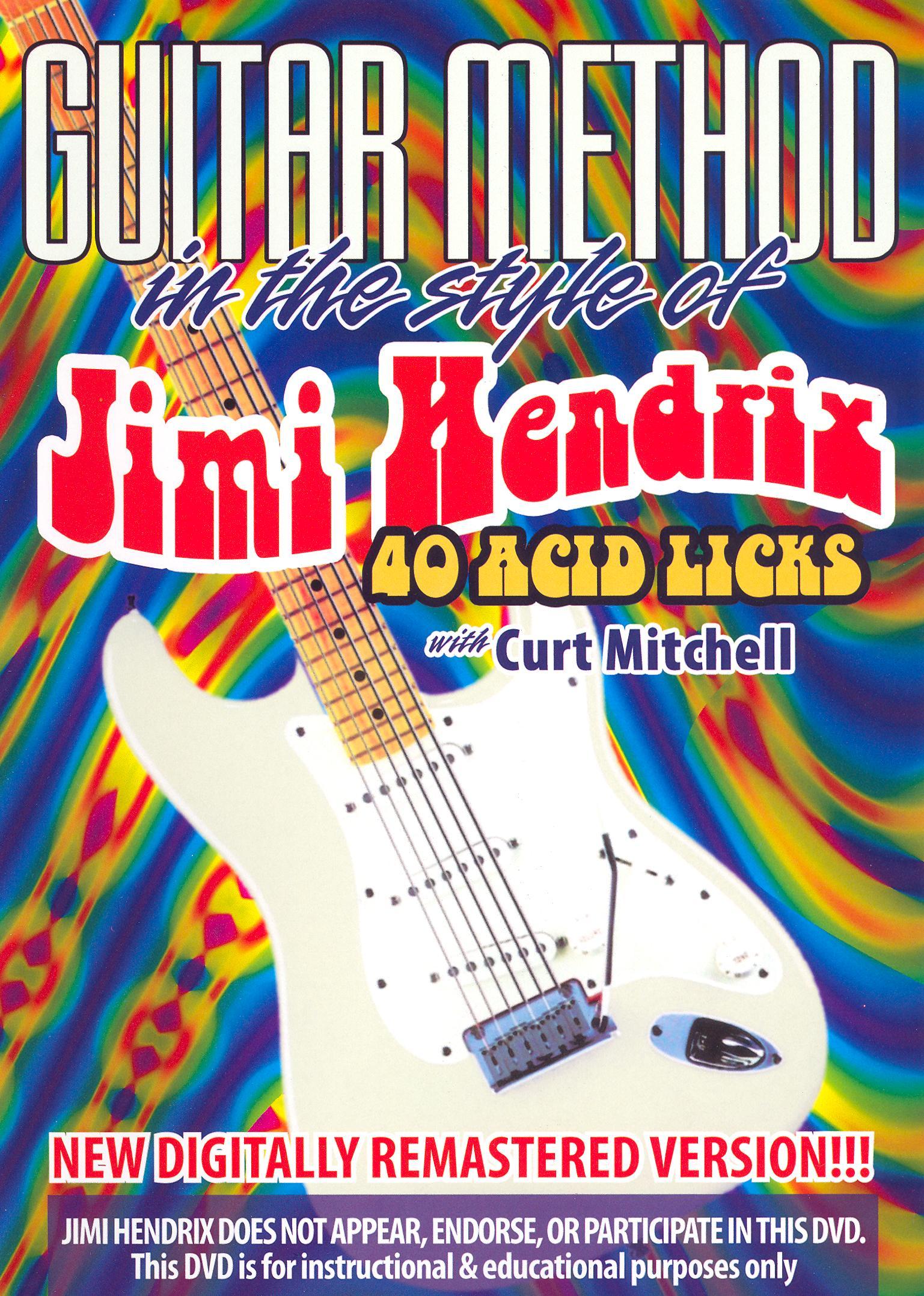 Guitar Method: Jimi Hendrix - 40 Acid Licks