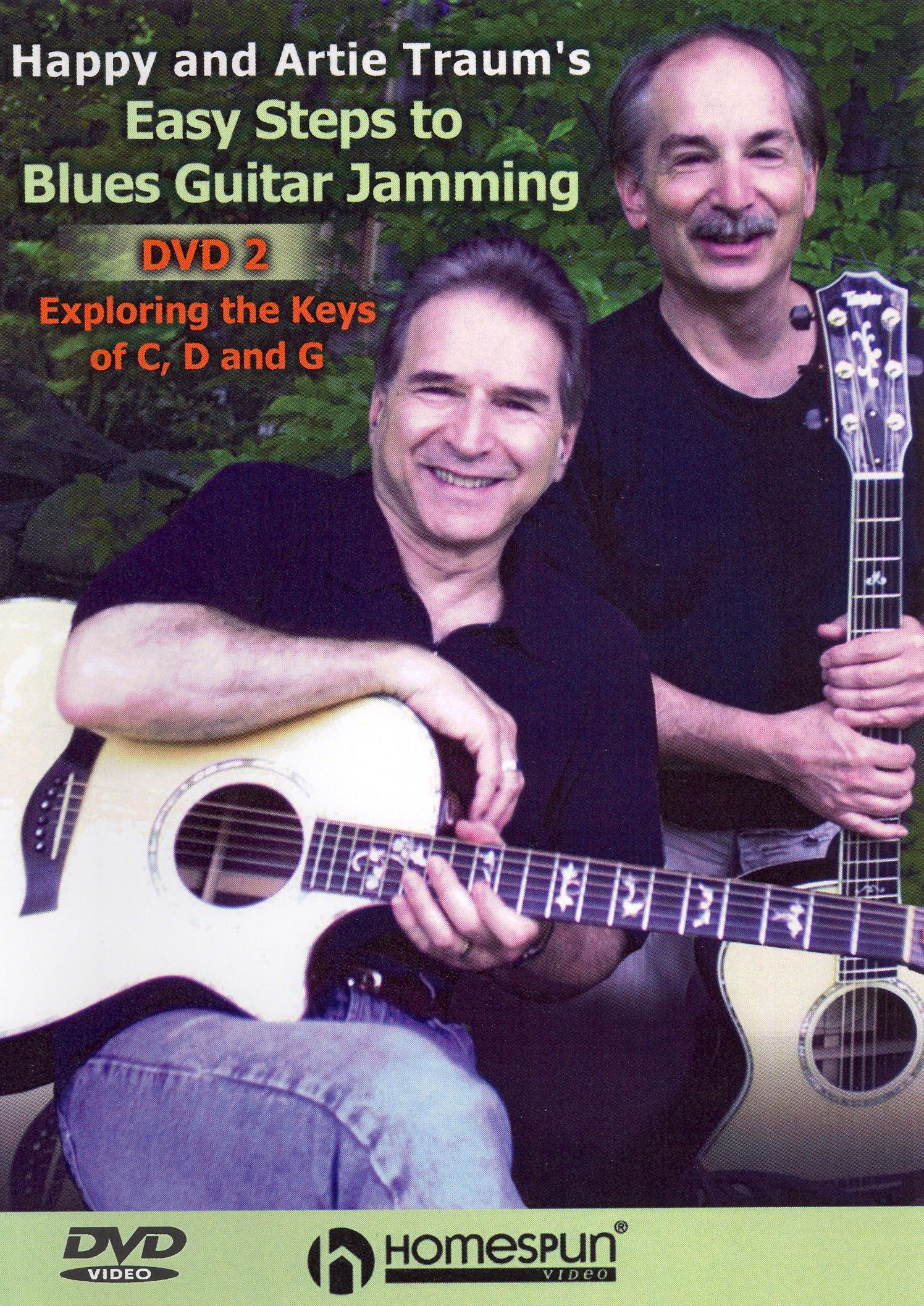 Happy Traum/Artie Traum: Easy Steps to Blues Guitar Jamming, Vol. 2