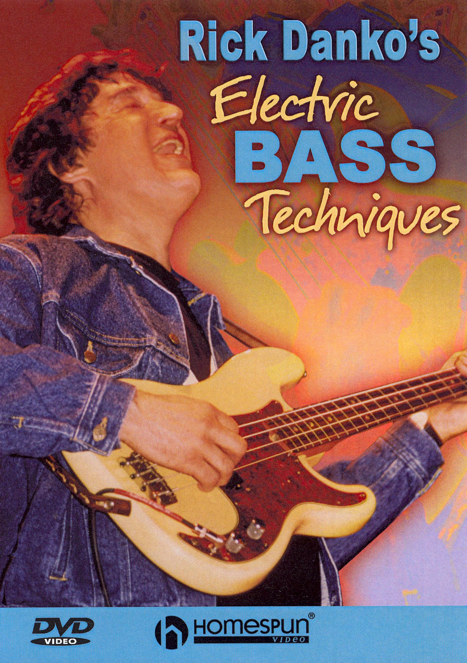 Rick Danko's Electric Bass Techniques