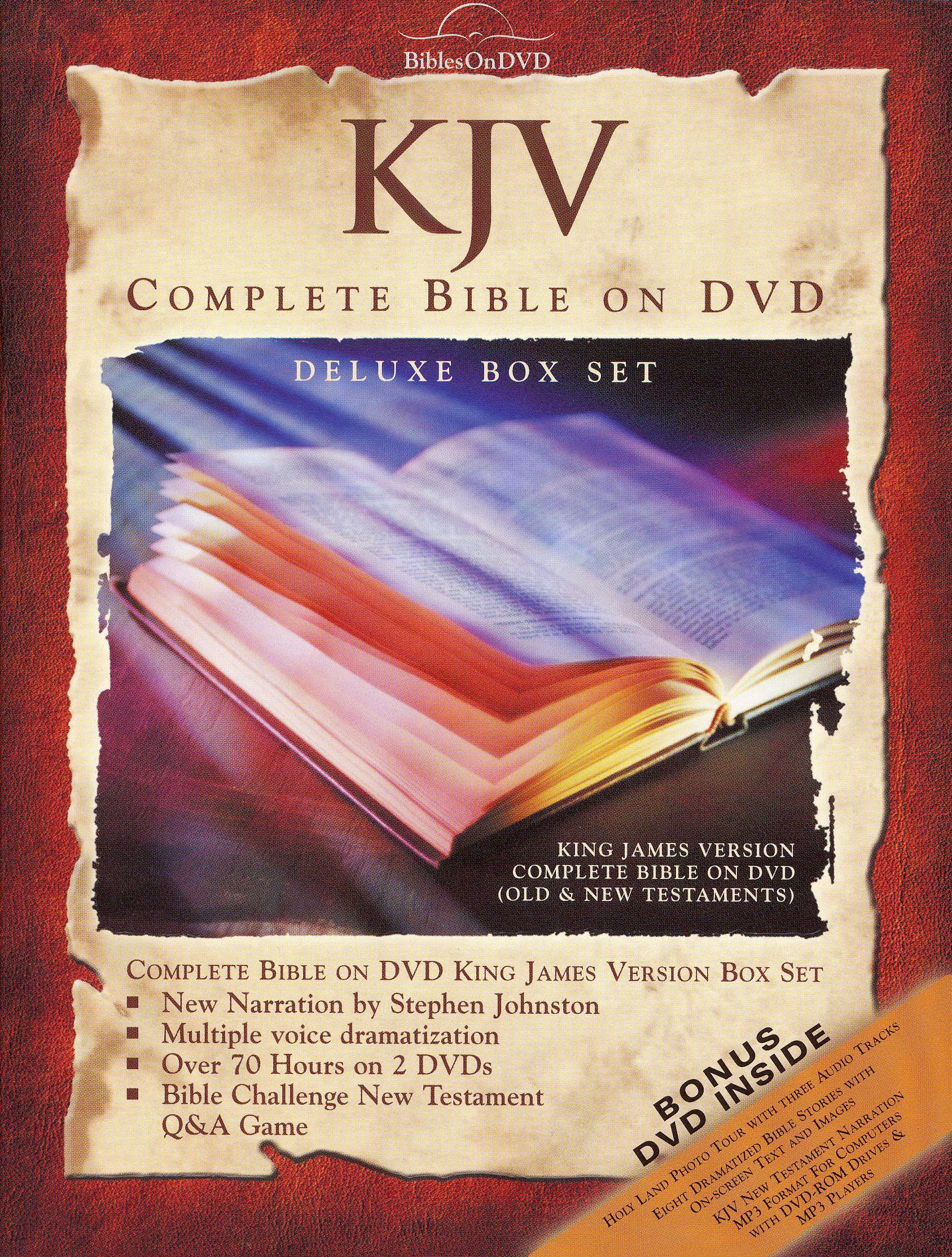 King James Bible On DVD