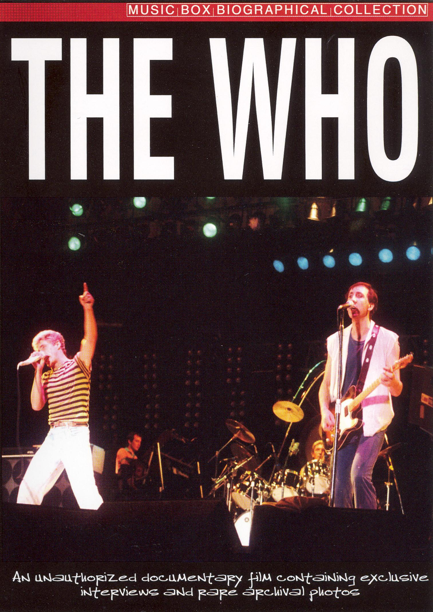 Music Box Biographical Collection: The Who
