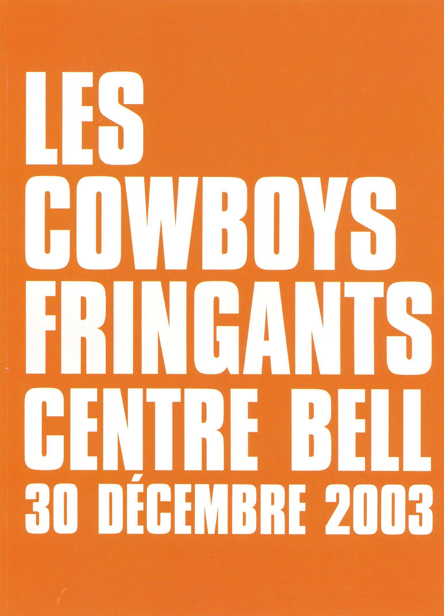 Cowboys Fringants: En Concert au Centre Bell