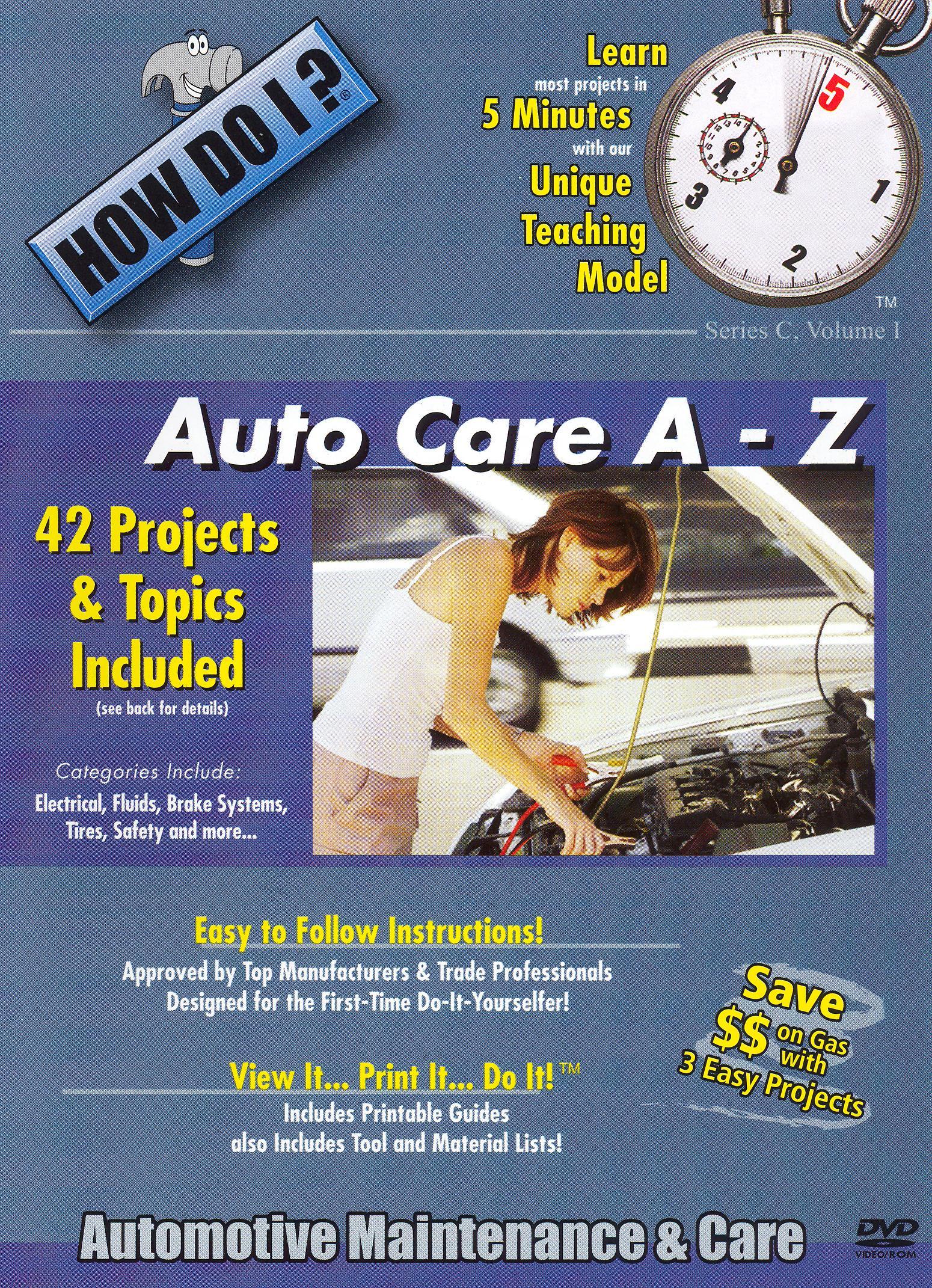 How Do I: Auto Care A - Z