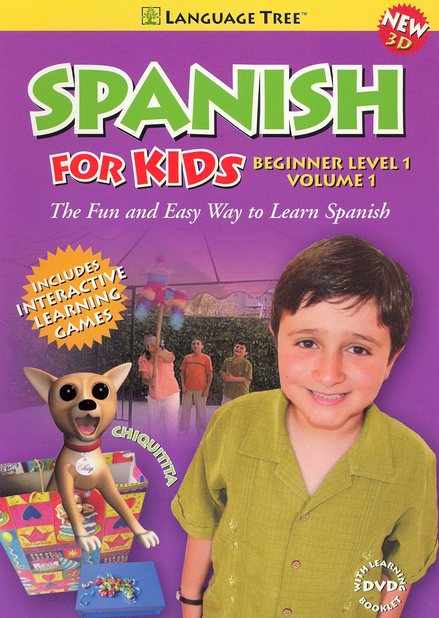 Spanish for Kids: Beginner, Vol. 1