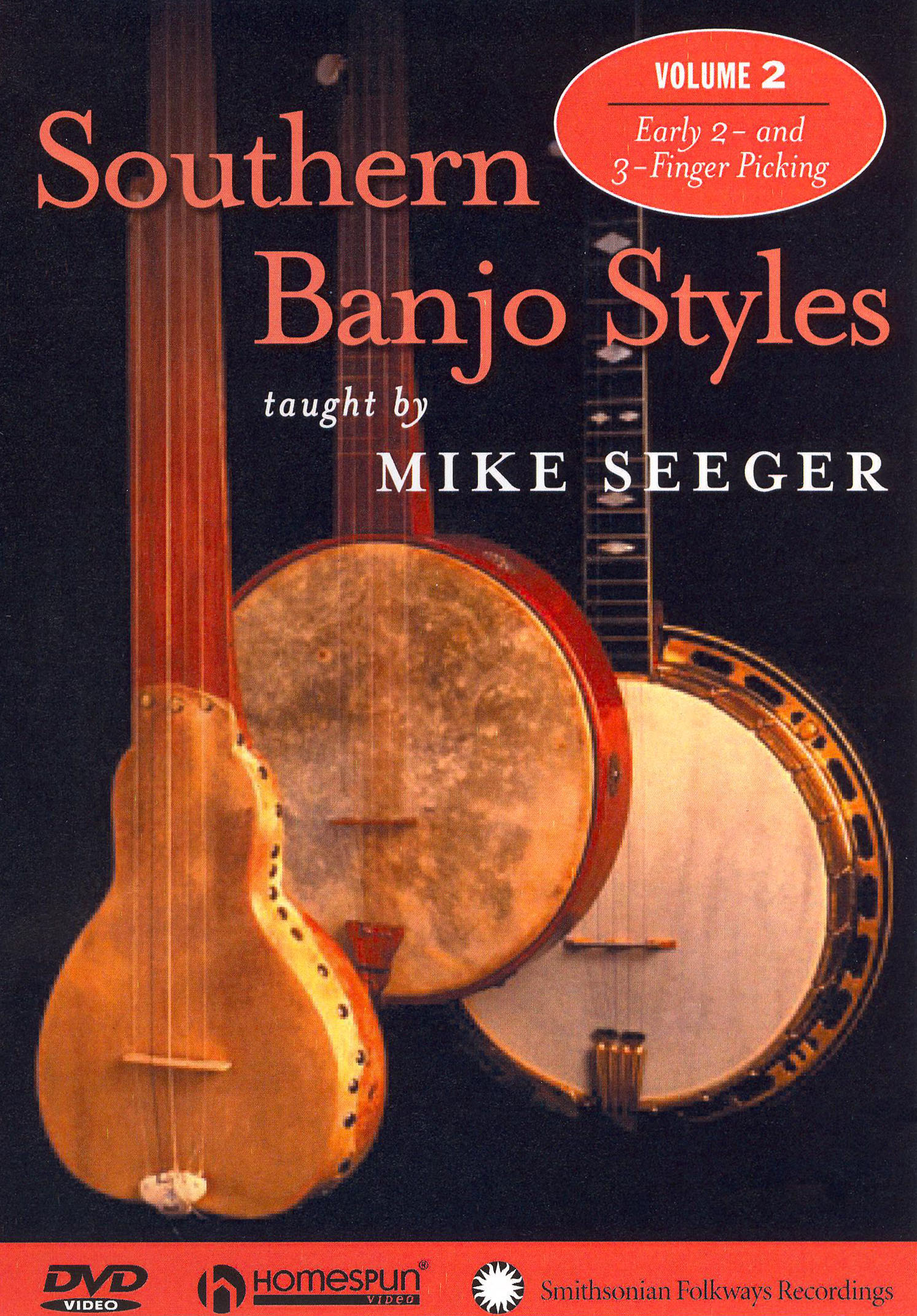 Mike Seeger: Southern Banjo Styles, Vol. 2