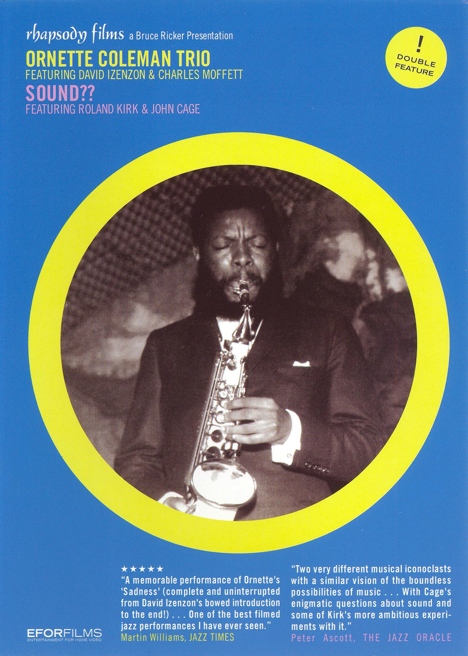 Ornette Coleman Trio: Sound