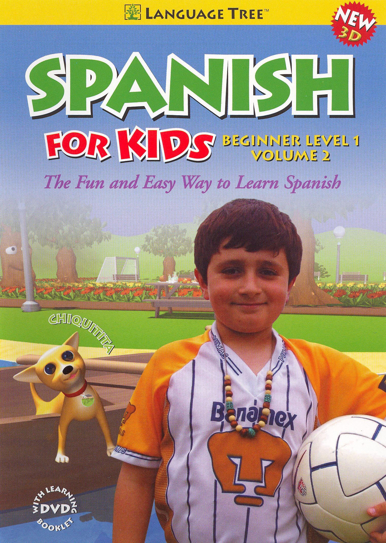 Spanish for Kids: Beginner, Vol. 2