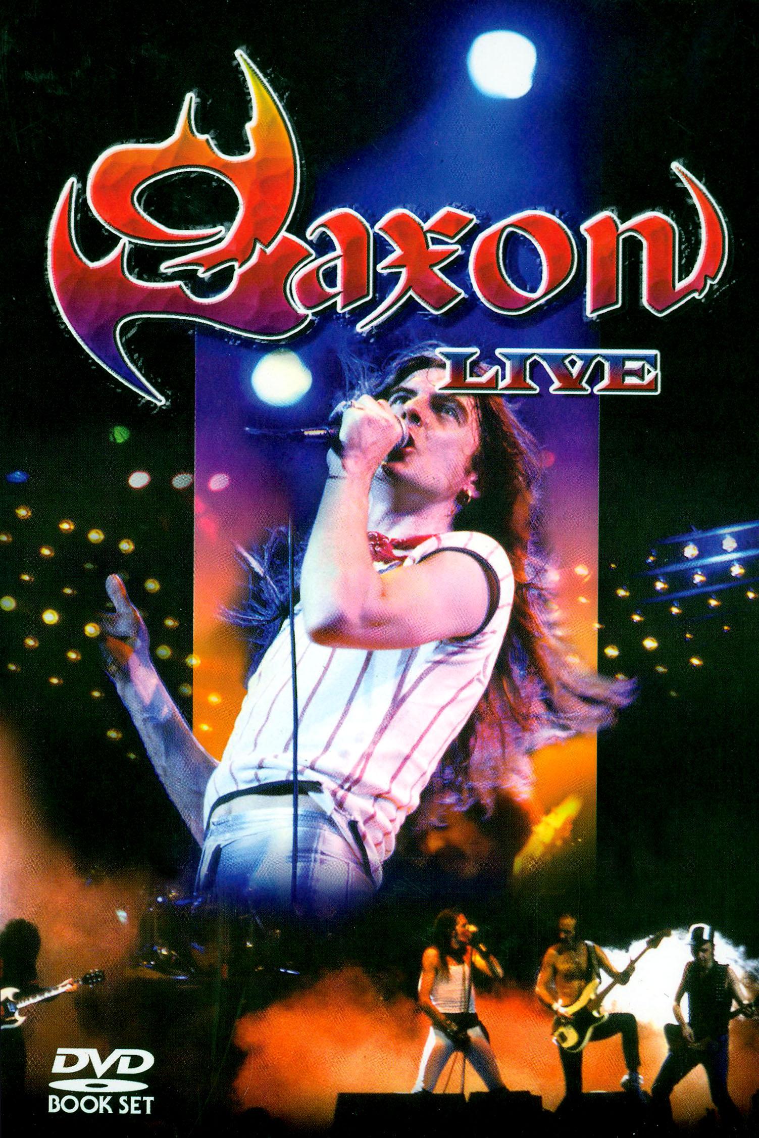 Saxon: Live.