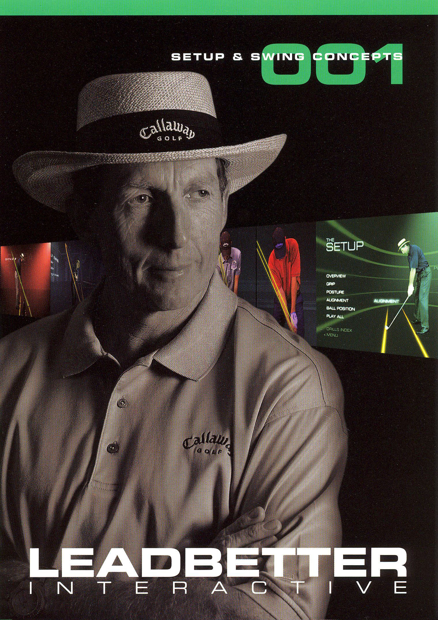 Leadbetter Interactive, Vol. 1: Setup and Swing Concepts